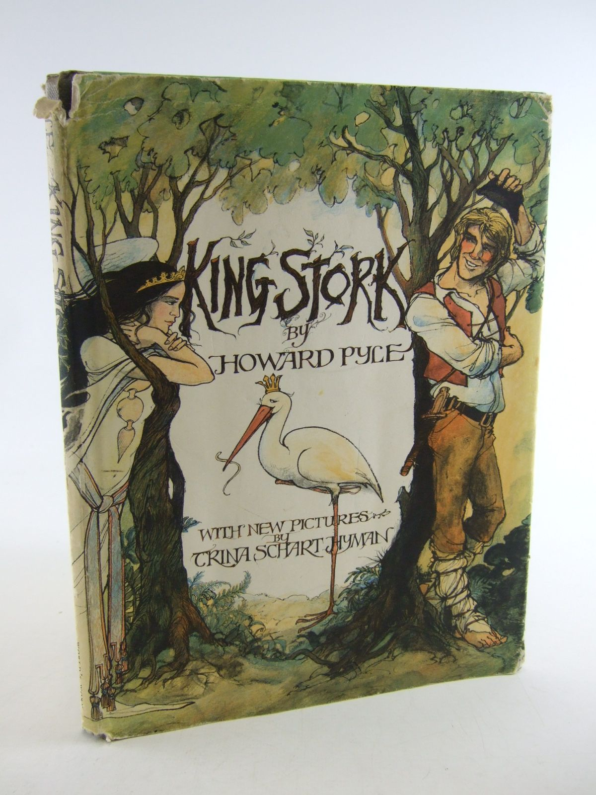 Photo of KING STORK written by Pyle, Howard illustrated by Hyman, Trina Schart published by World's Work Ltd. (STOCK CODE: 1805448)  for sale by Stella & Rose's Books