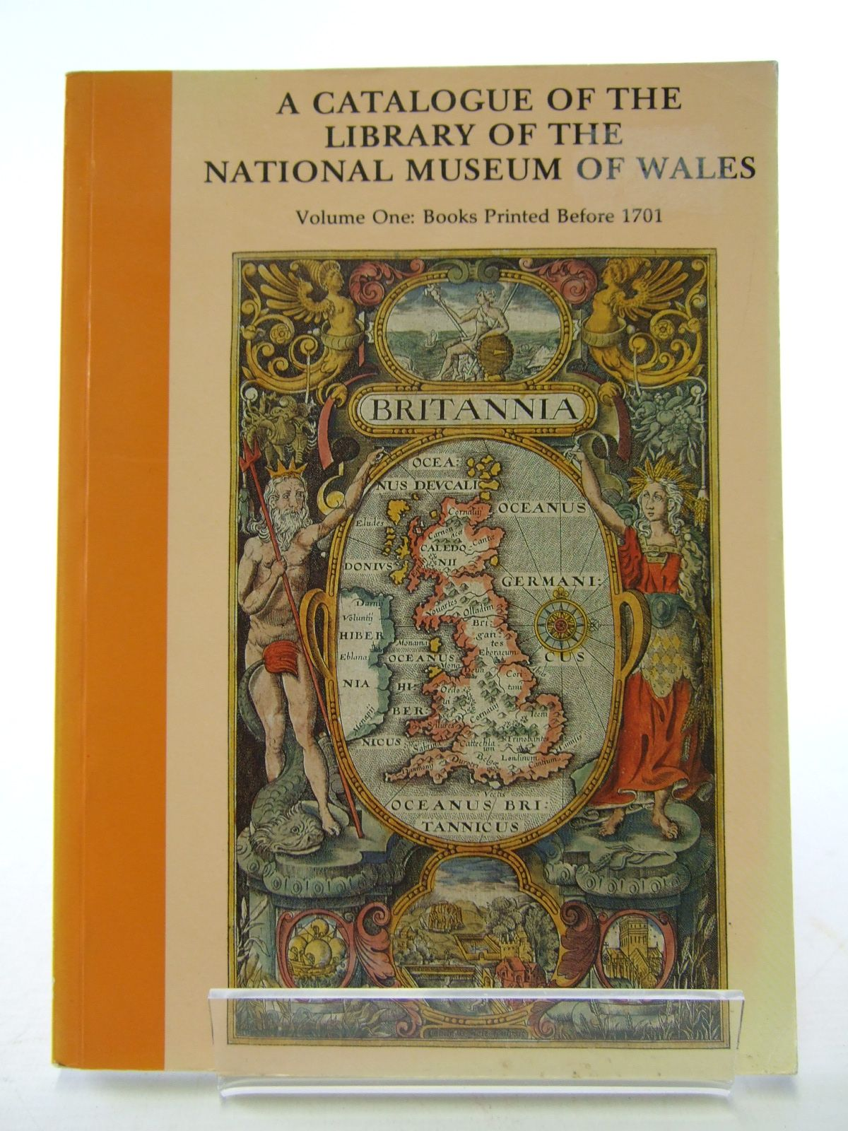 Photo of A CATALOGUE OF THE LIBRARY OF THE NATIONAL MUSEUM OF WALES VOLUME ONE: BOOKS PRINTED BEFORE 1701- Stock Number: 1805544