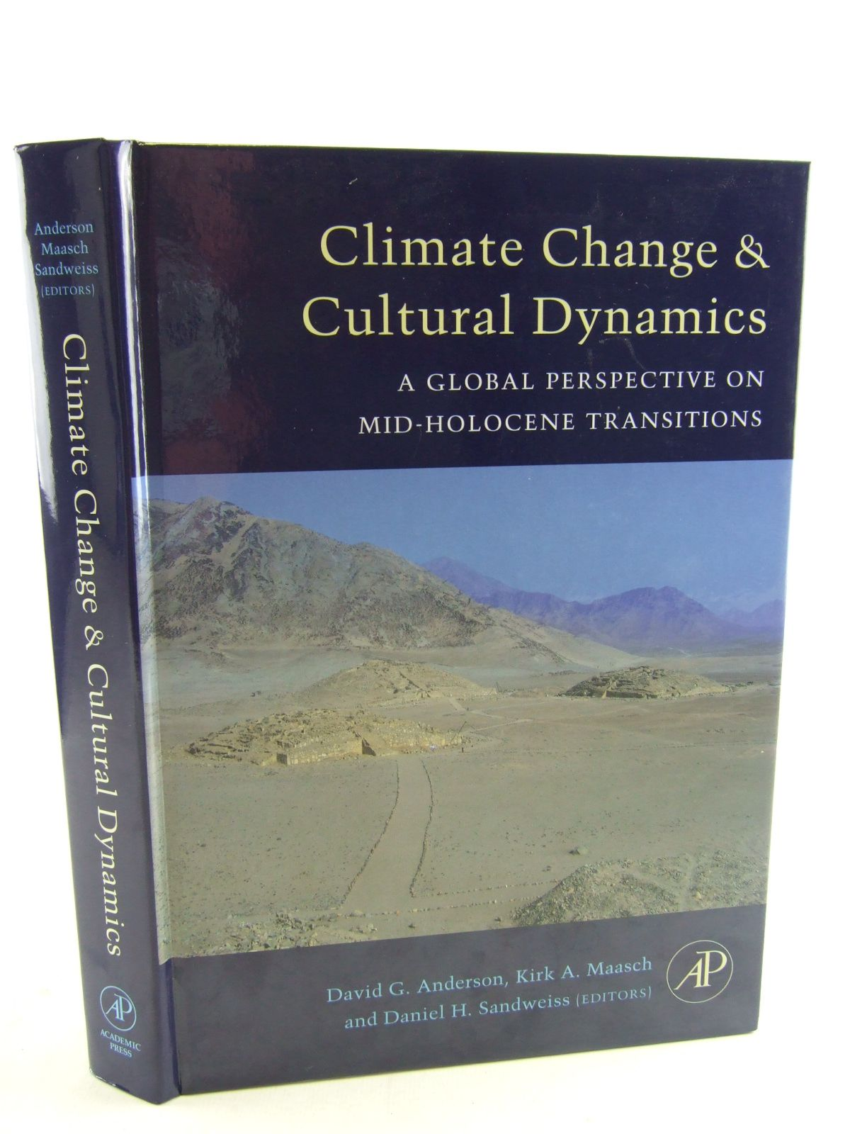 Photo of CLIMATE CHANGE AND CULTURAL DYNAMICS written by Anderson, David G.