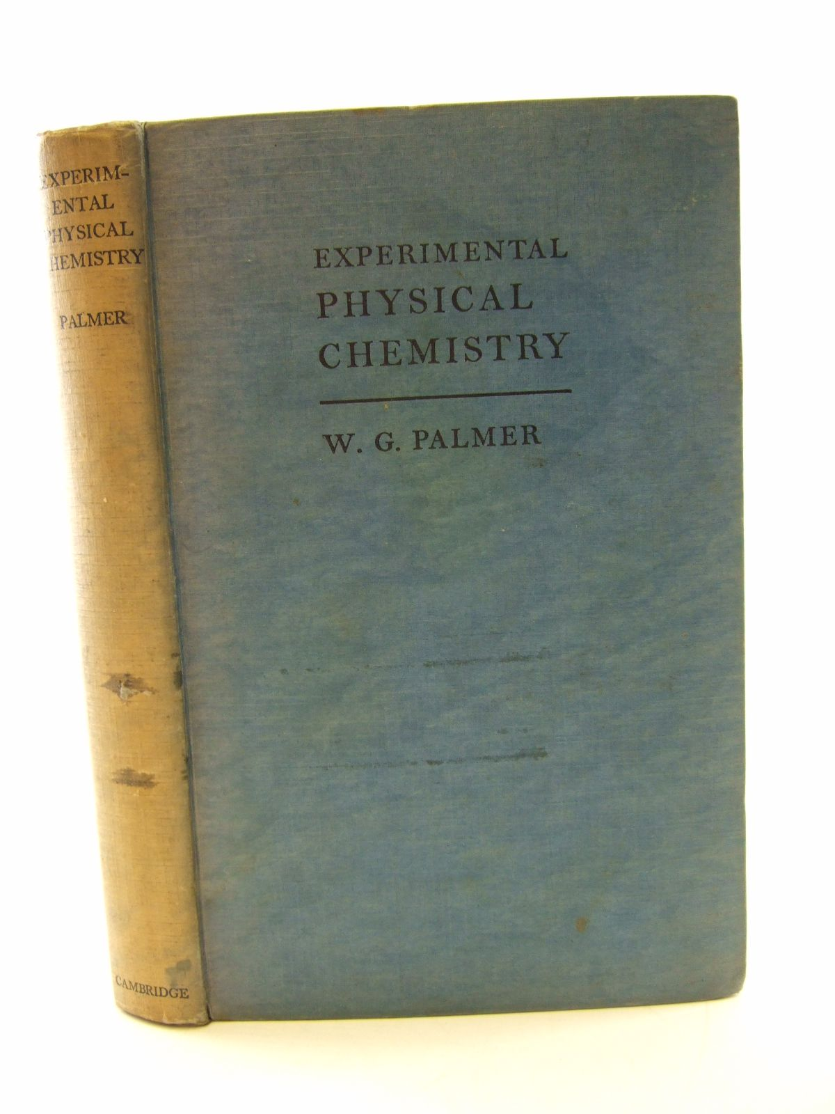 Photo of EXPERIMENTAL PHYSICAL CHEMISTRY- Stock Number: 1805686