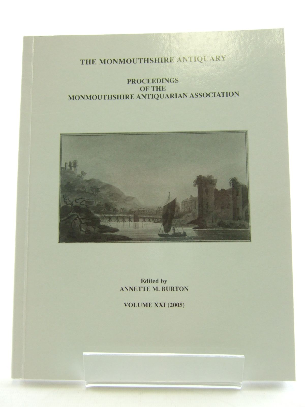 Photo of THE MONMOUTHSHIRE ANTIQUARY VOLUME XXI- Stock Number: 1805772