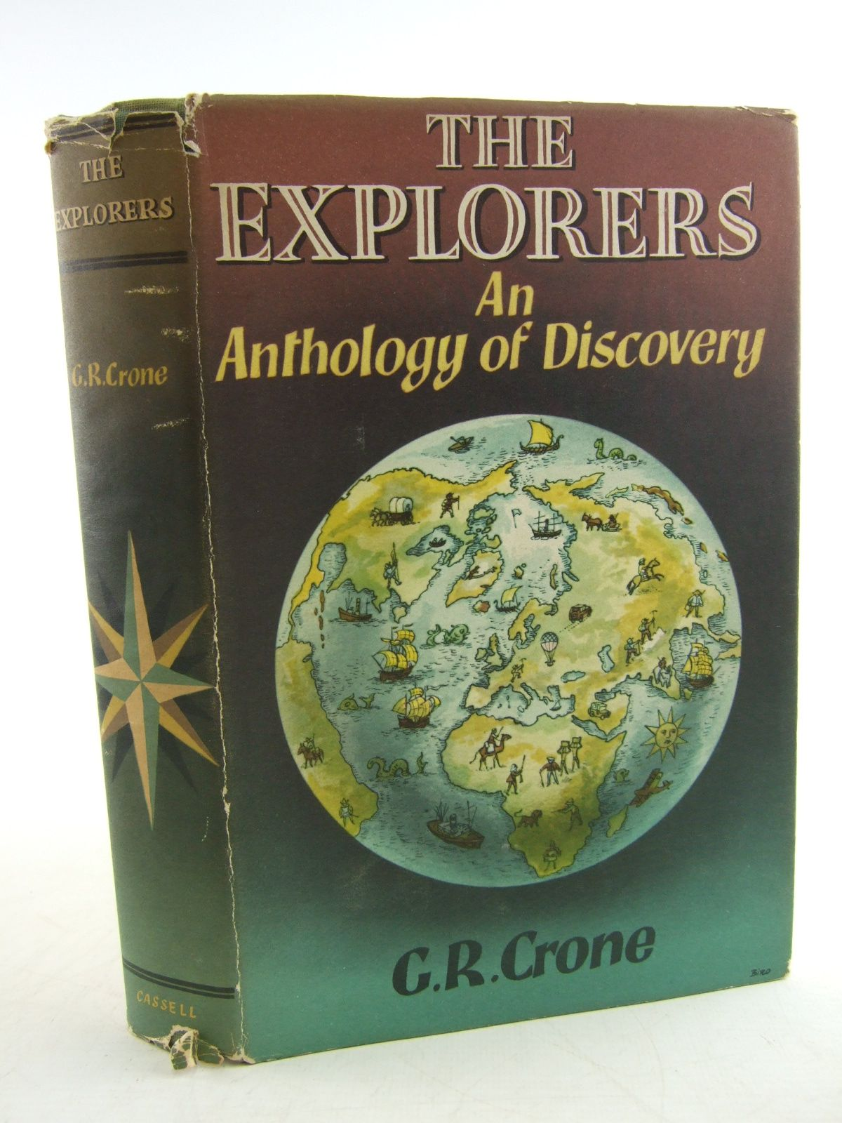 Photo of THE EXPLORERS AN ANTHOLOGY OF DISCOVERY written by Crone, G.R. published by Cassell (STOCK CODE: 1805955)  for sale by Stella & Rose's Books