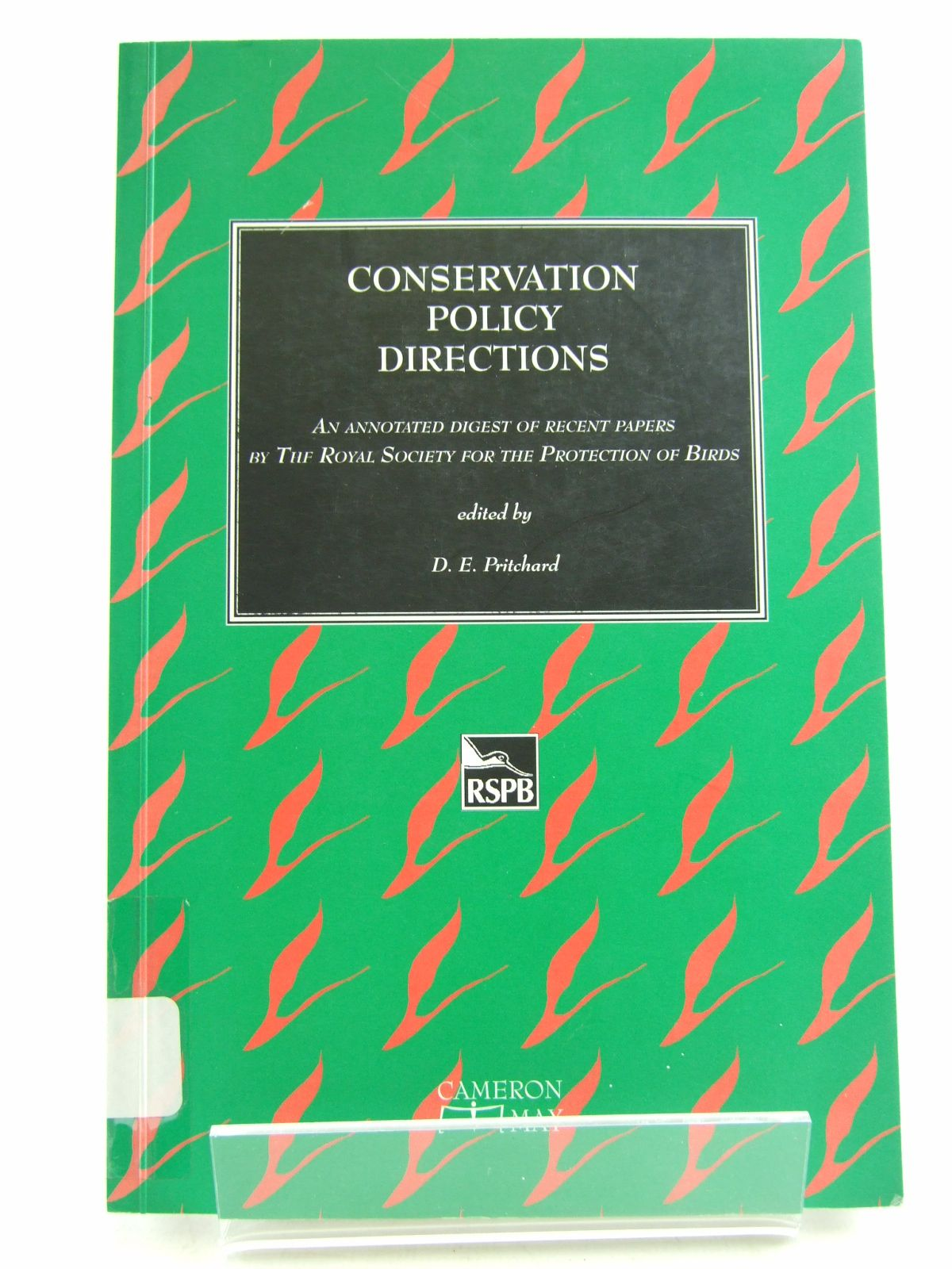 Photo of CONSERVATION POLICY DIRECTIONS written by Pritchard, D.E. published by Cameron May (STOCK CODE: 1805962)  for sale by Stella & Rose's Books