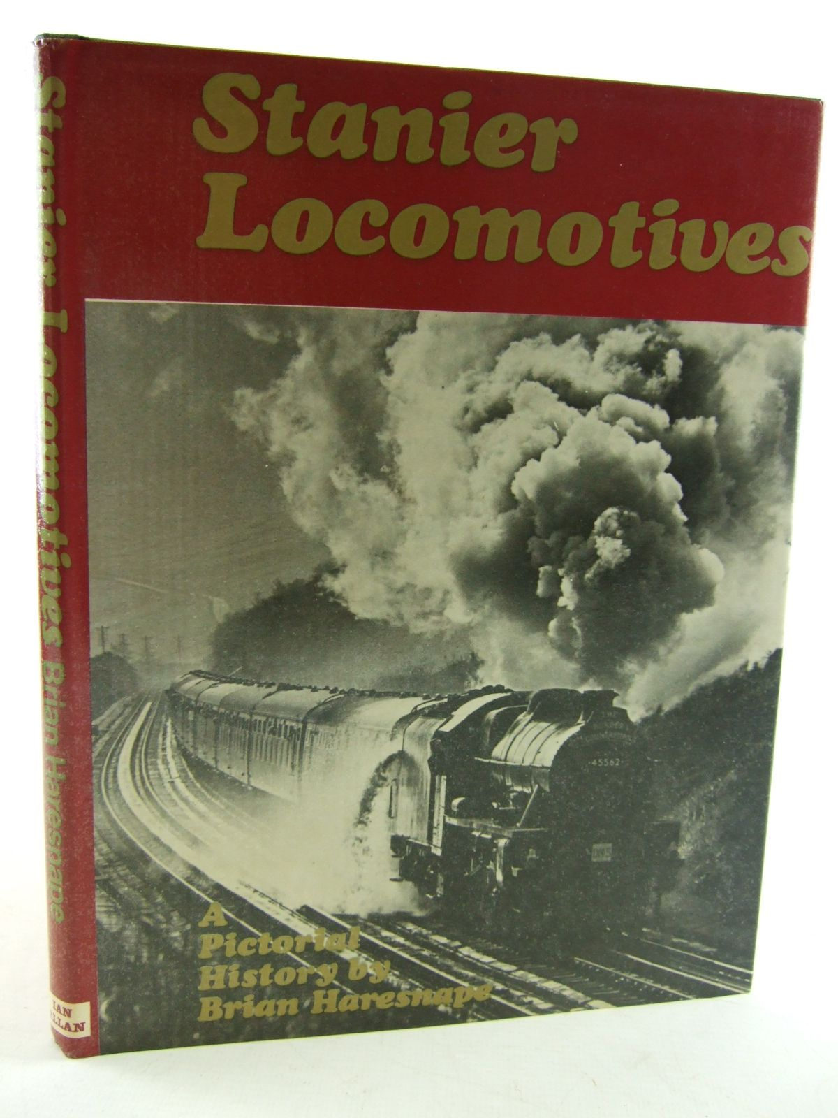 Photo of STANIER LOCOMOTIVES written by Haresnape, Brian published by Ian Allan (STOCK CODE: 1805993)  for sale by Stella & Rose's Books