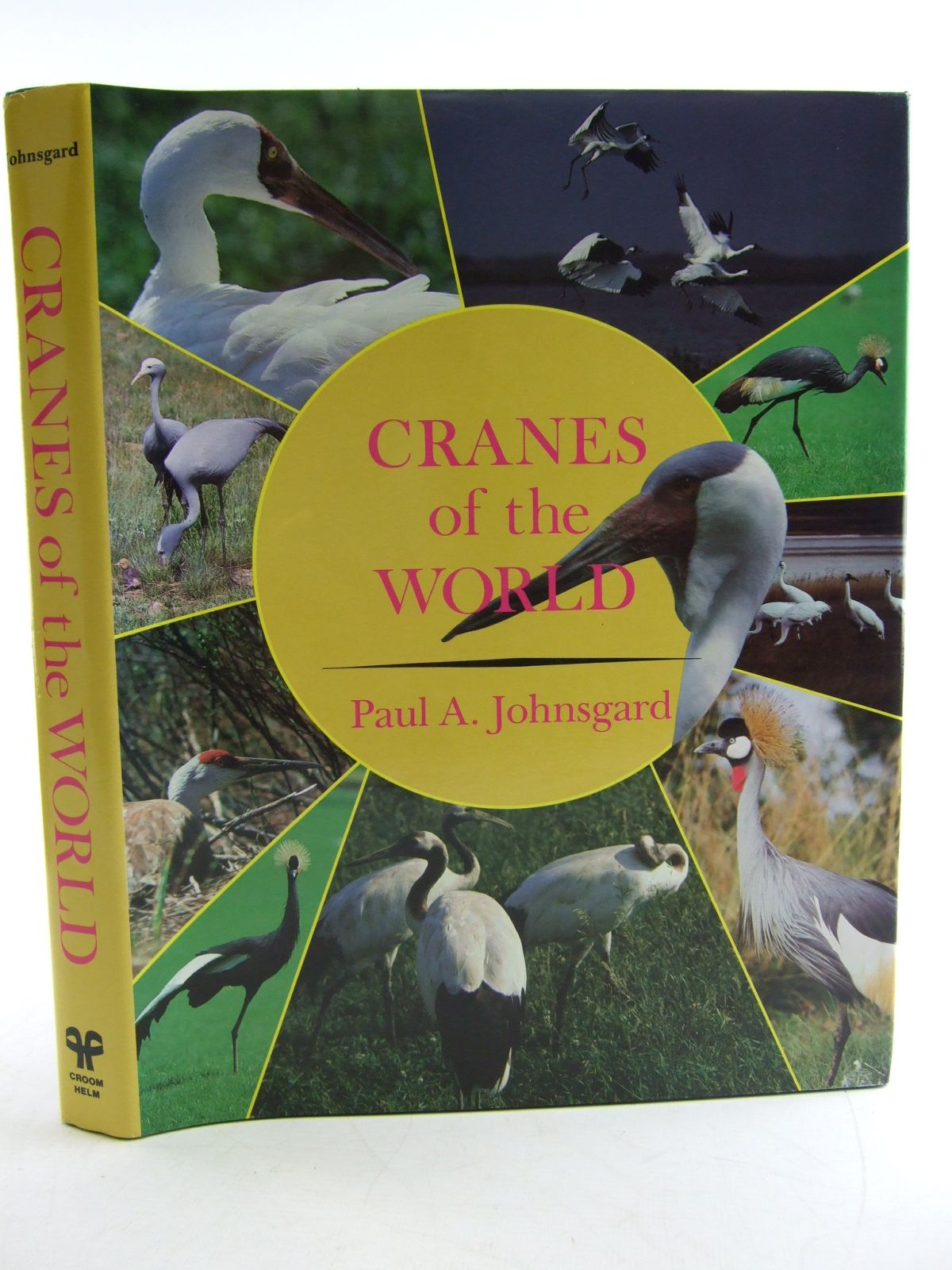 Photo of CRANES OF THE WORLD written by Johnsgard, Paul A. published by Indiana University Press (STOCK CODE: 1806032)  for sale by Stella & Rose's Books