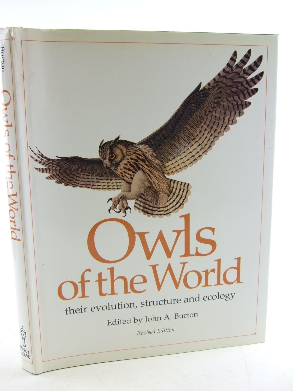 Photo of OWLS OF THE WORLD THEIR EVOLUTION, STRUCTURE AND ECOLOGY written by Burton, John A. illustrated by Rignall, John published by Peter Lowe (STOCK CODE: 1806184)  for sale by Stella & Rose's Books