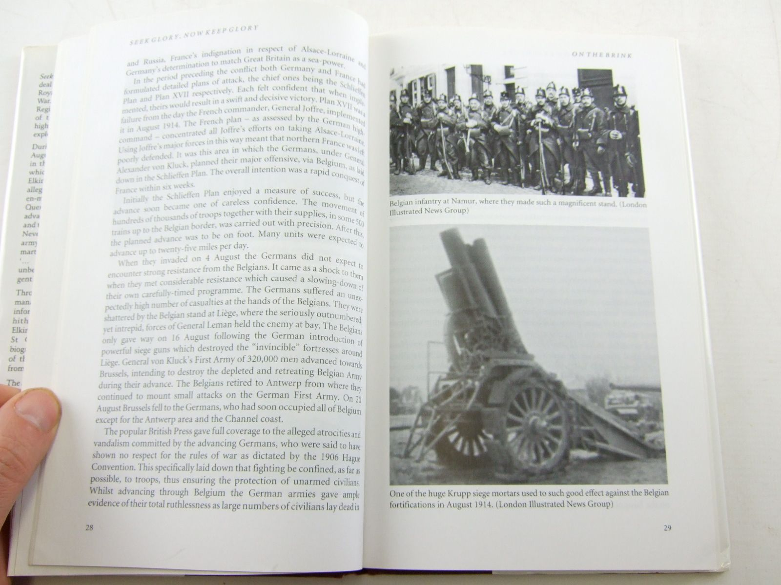 Photo of SEEK GLORY, NOW KEEP GLORY written by Ashby, John published by Helion & Company (STOCK CODE: 1806274)  for sale by Stella & Rose's Books