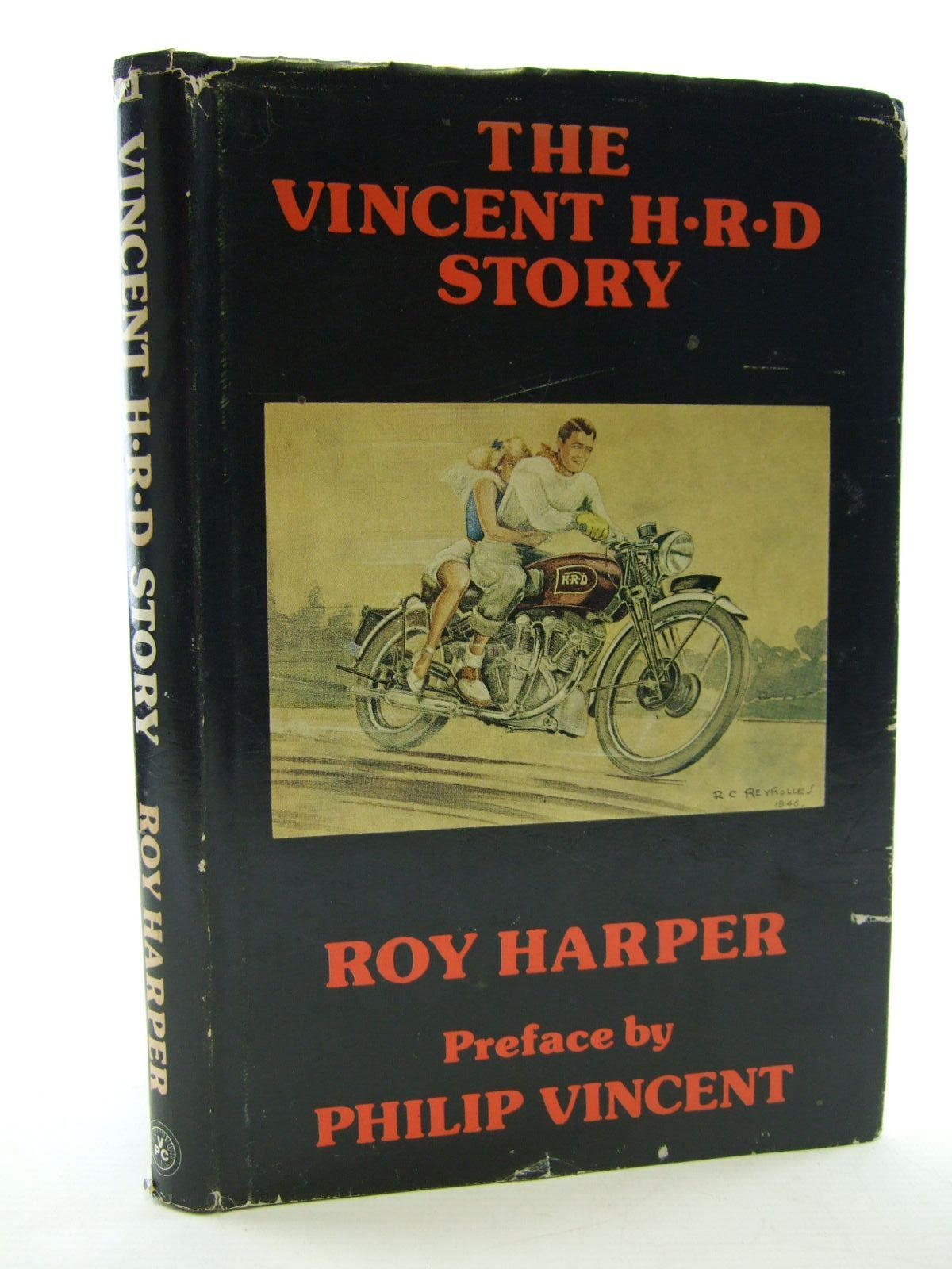 Photo of THE VINCENT H.R.D. STORY written by Harper, Roy published by Vincent Publishing Company (STOCK CODE: 1806275)  for sale by Stella & Rose's Books