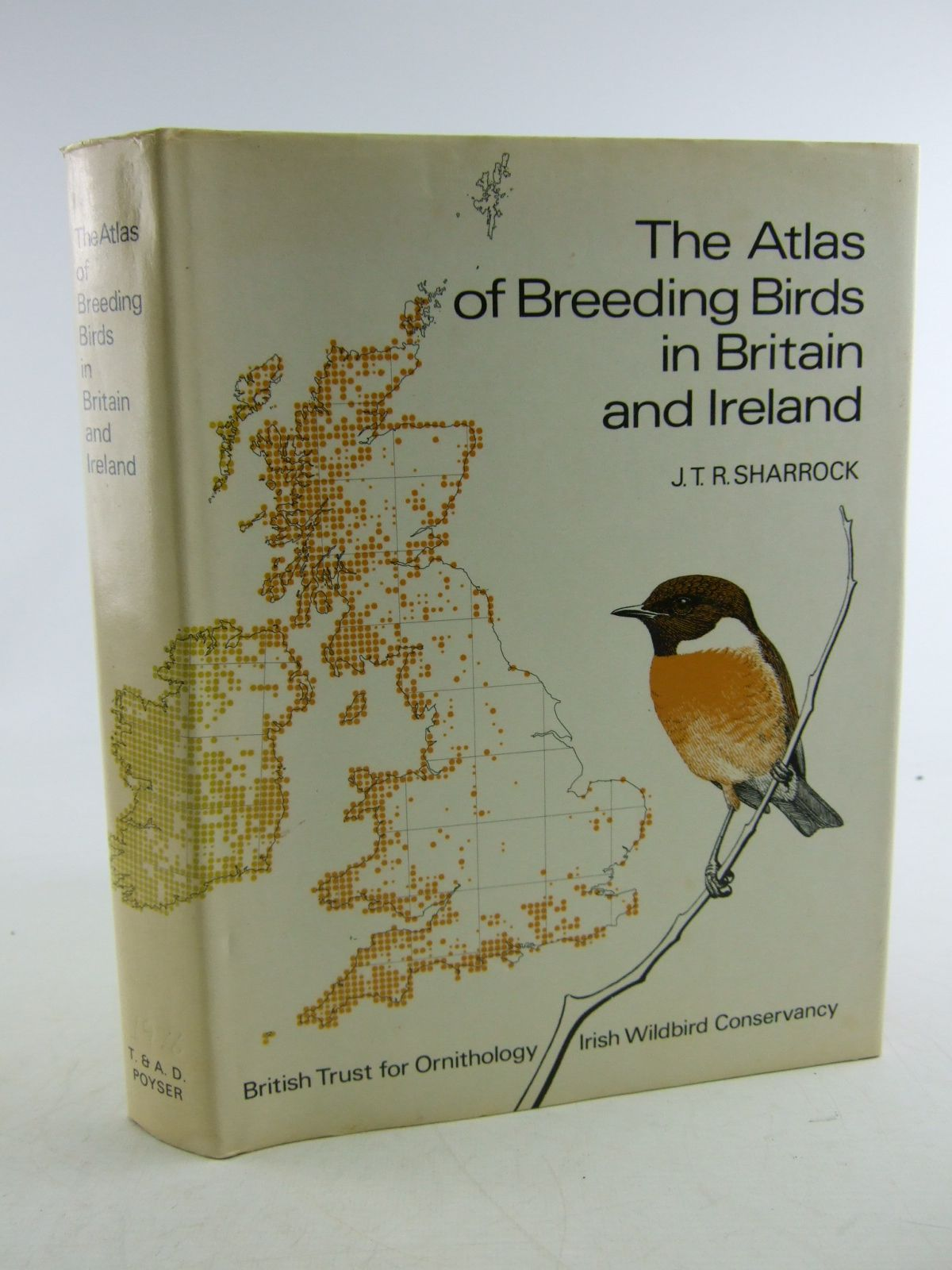 Photo of THE ATLAS OF BREEDING BIRDS IN BRITAIN AND IRELAND written by Sharrock, J.T.R. published by T. & A.D. Poyser (STOCK CODE: 1806319)  for sale by Stella & Rose's Books