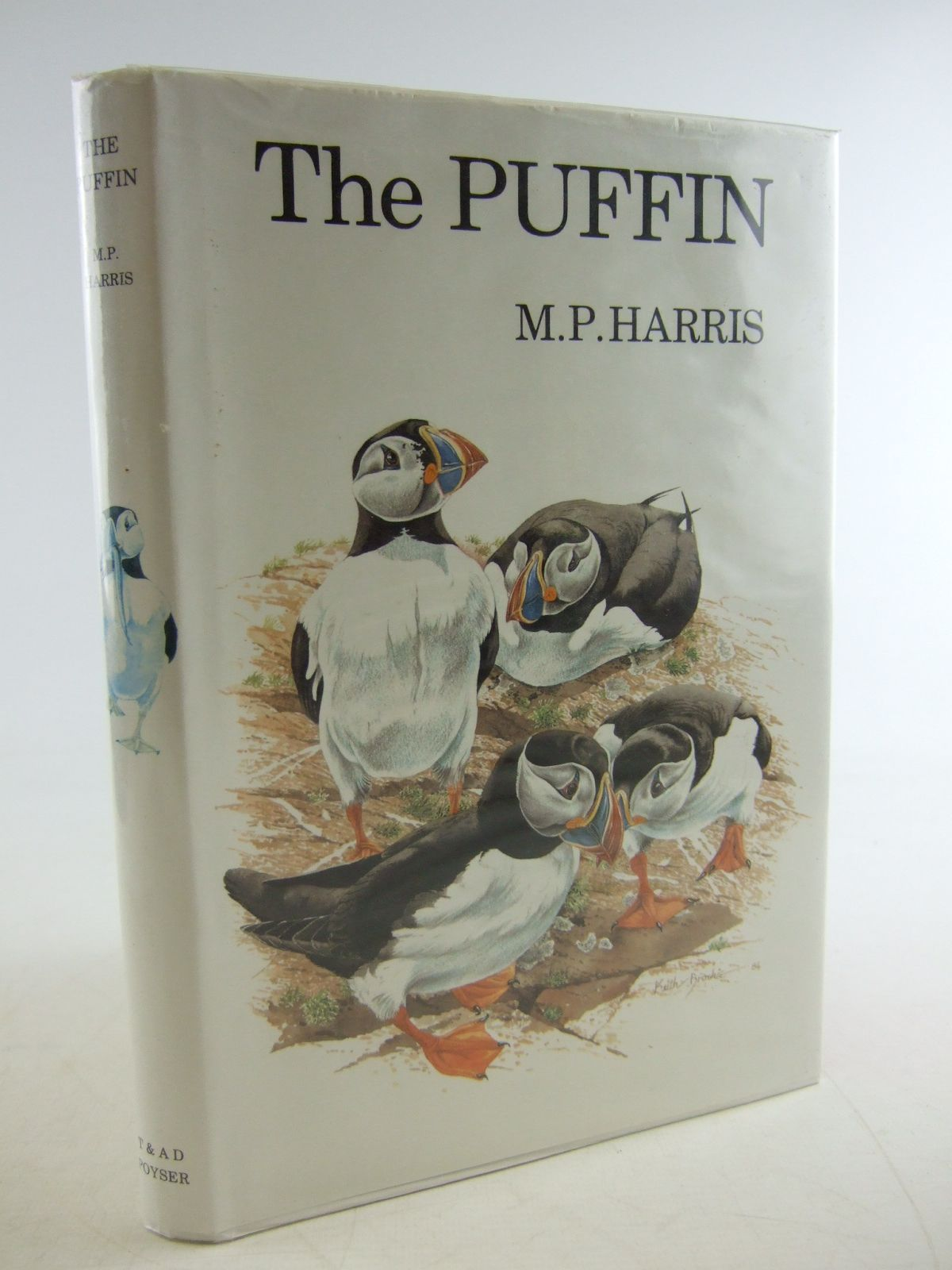 Photo of THE PUFFIN written by Harris, M.P. illustrated by Brockie, Keith published by T. & A.D. Poyser (STOCK CODE: 1806340)  for sale by Stella & Rose's Books