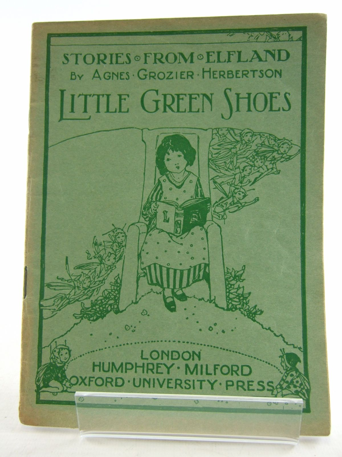 Photo of STORIES FROM ELFLAND: LITTLE GREEN SHOES written by Herbertson, Agnes Grozier published by Humphrey Milford, Oxford University Press (STOCK CODE: 1806391)  for sale by Stella & Rose's Books