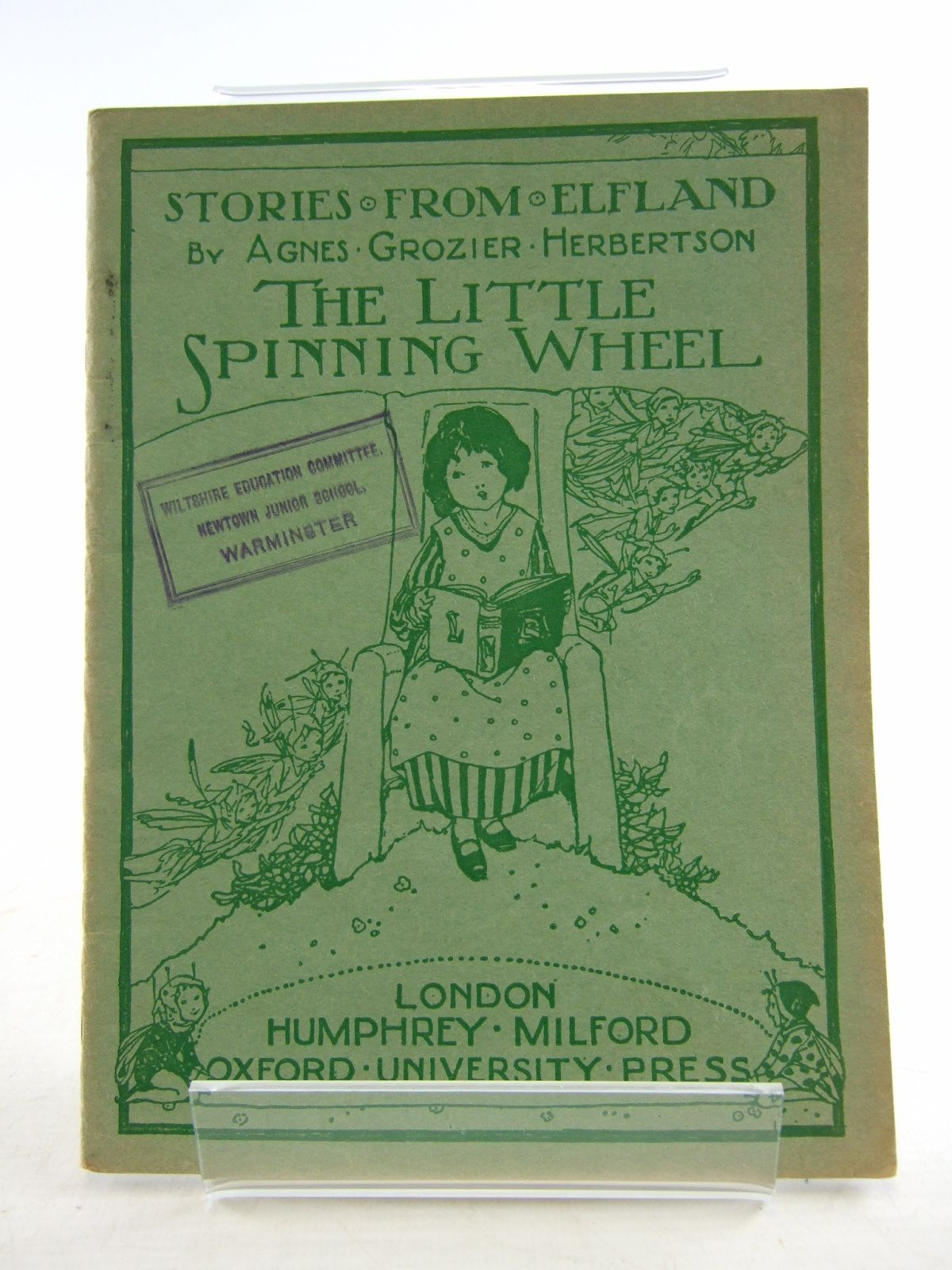 Photo of STORIES FROM ELFLAND: THE LITTLE SPINNING WHEEL written by Herbertson, Agnes Grozier published by Humphrey Milford, Oxford University Press (STOCK CODE: 1806394)  for sale by Stella & Rose's Books