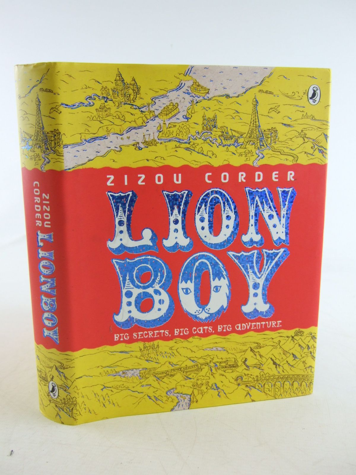 Photo of LIONBOY written by Corder, Zizou published by Puffin Books (STOCK CODE: 1806627)  for sale by Stella & Rose's Books