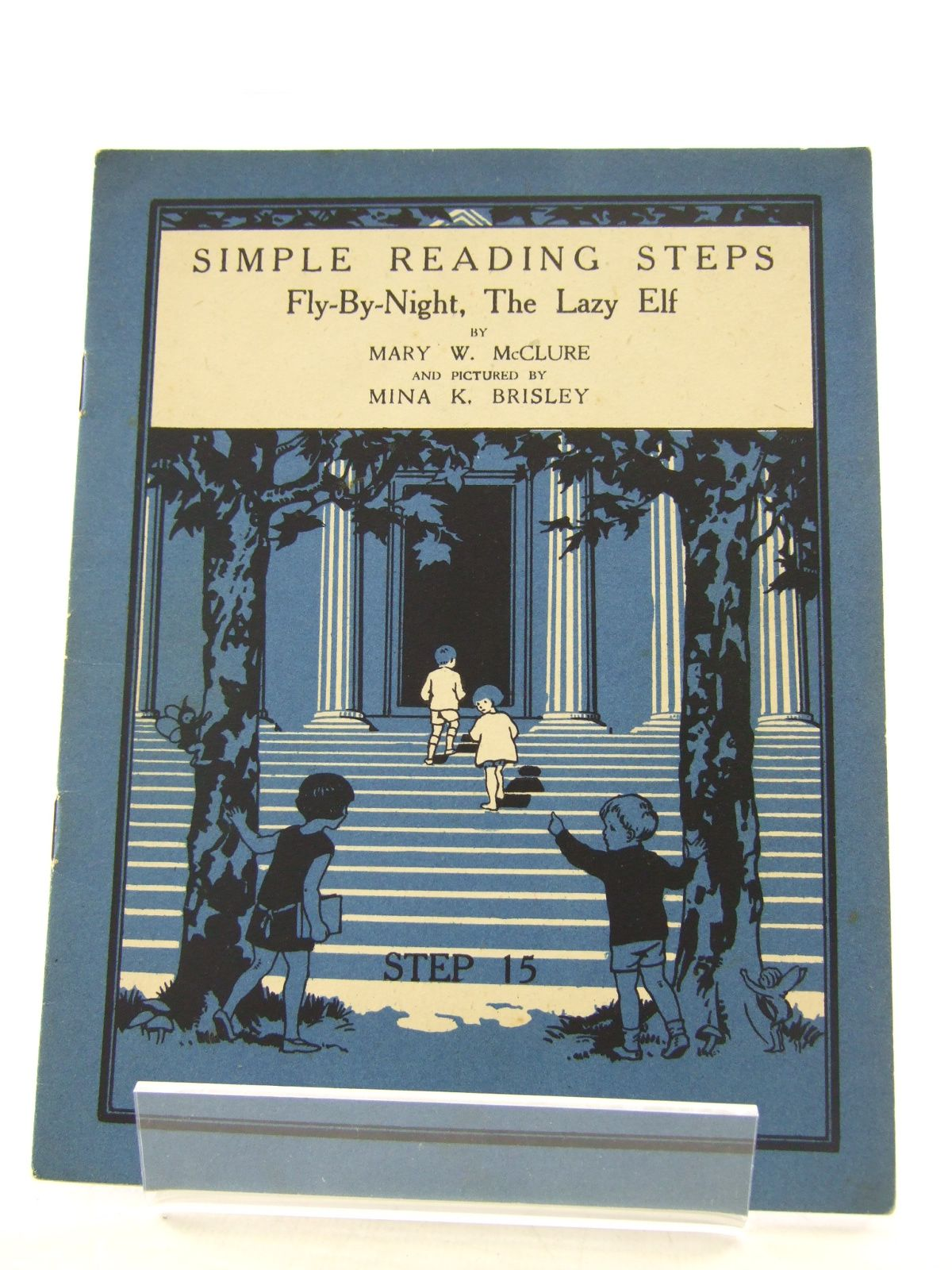 Photo of SIMPLE READING STEPS: FLY-BY-NIGHT, THE LAZY ELF written by McClure, Mary W. illustrated by Brisley, Nina K. (STOCK CODE: 1806817)  for sale by Stella & Rose's Books