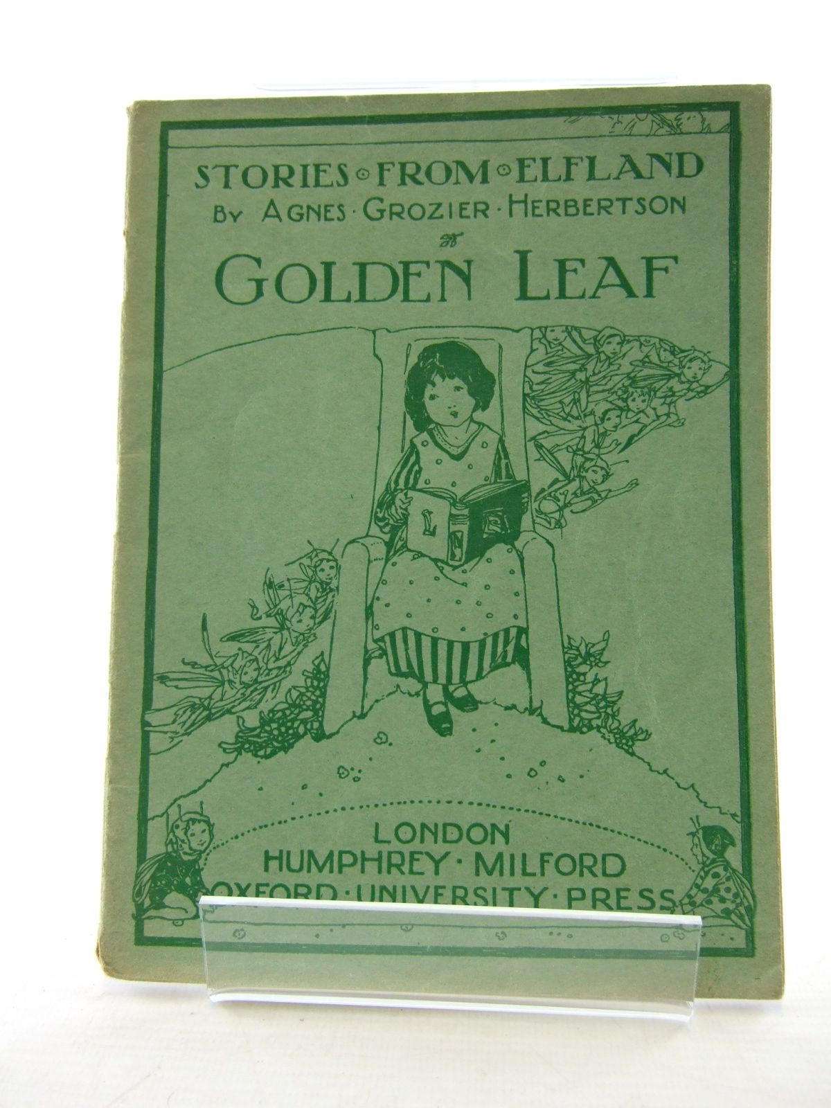 Photo of STORIES FROM ELFLAND: GOLDEN LEAF written by Herbertson, Agnes Grozier published by Humphrey Milford, Oxford University Press (STOCK CODE: 1806818)  for sale by Stella & Rose's Books