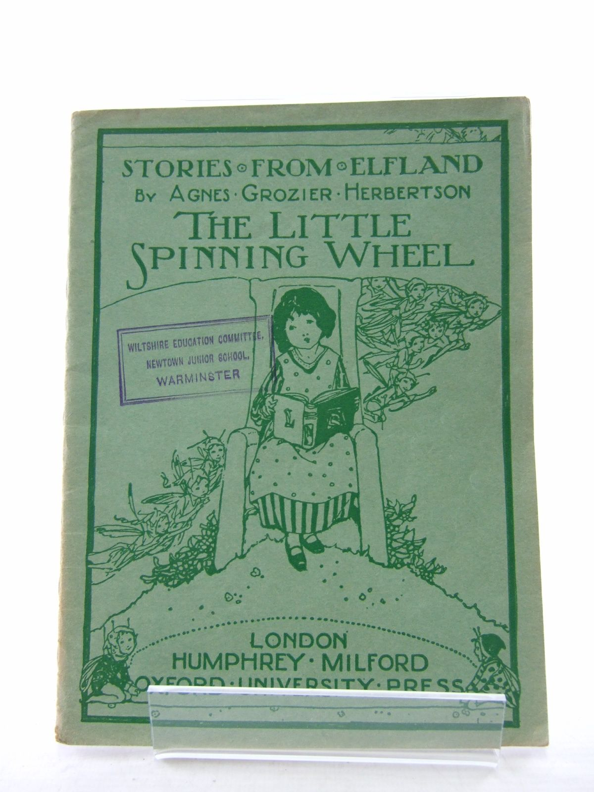 Photo of STORIES FROM ELFLAND: THE LITTLE SPINNING WHEEL written by Herbertson, Agnes Grozier published by Humphrey Milford, Oxford University Press (STOCK CODE: 1806820)  for sale by Stella & Rose's Books