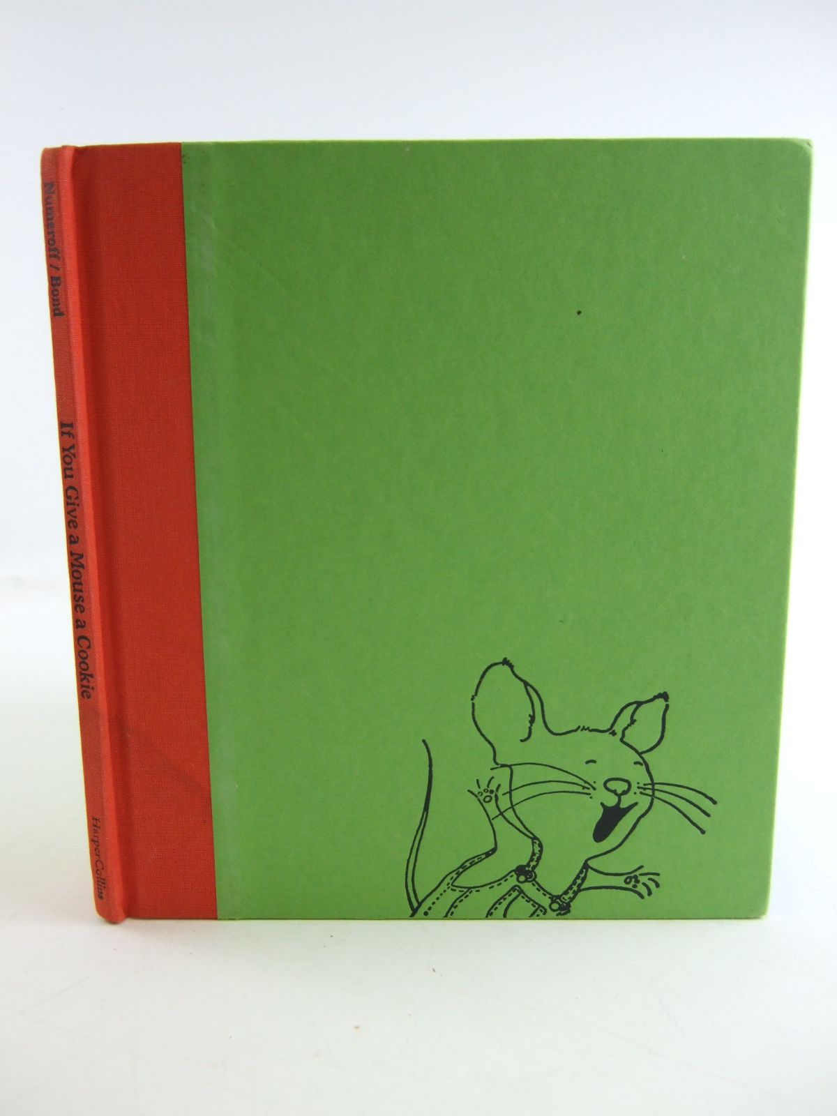 Photo of IF YOU GIVE A MOUSE A COOKIE written by Numeroff, Laura Joffe illustrated by Bond, Felicia published by Harper Collins (STOCK CODE: 1807048)  for sale by Stella & Rose's Books