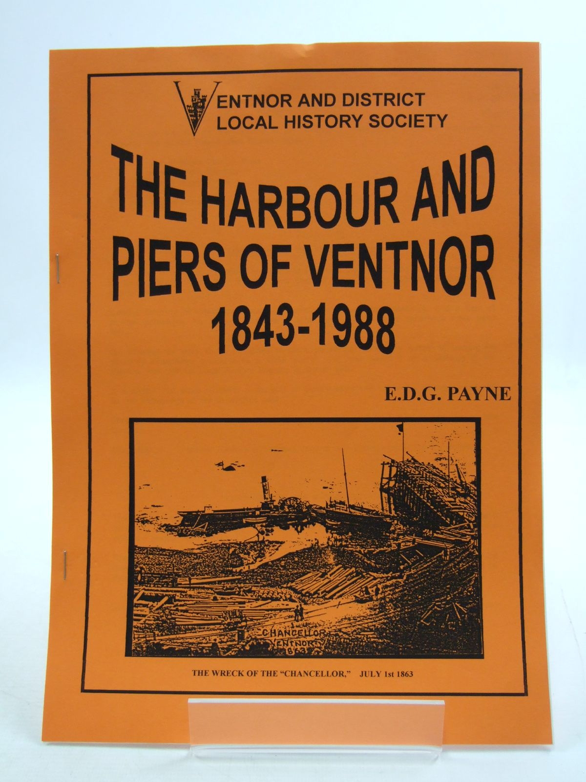 Photo of THE HARBOUR AND PIERS OF VENTNOR 1843-1988- Stock Number: 1807164