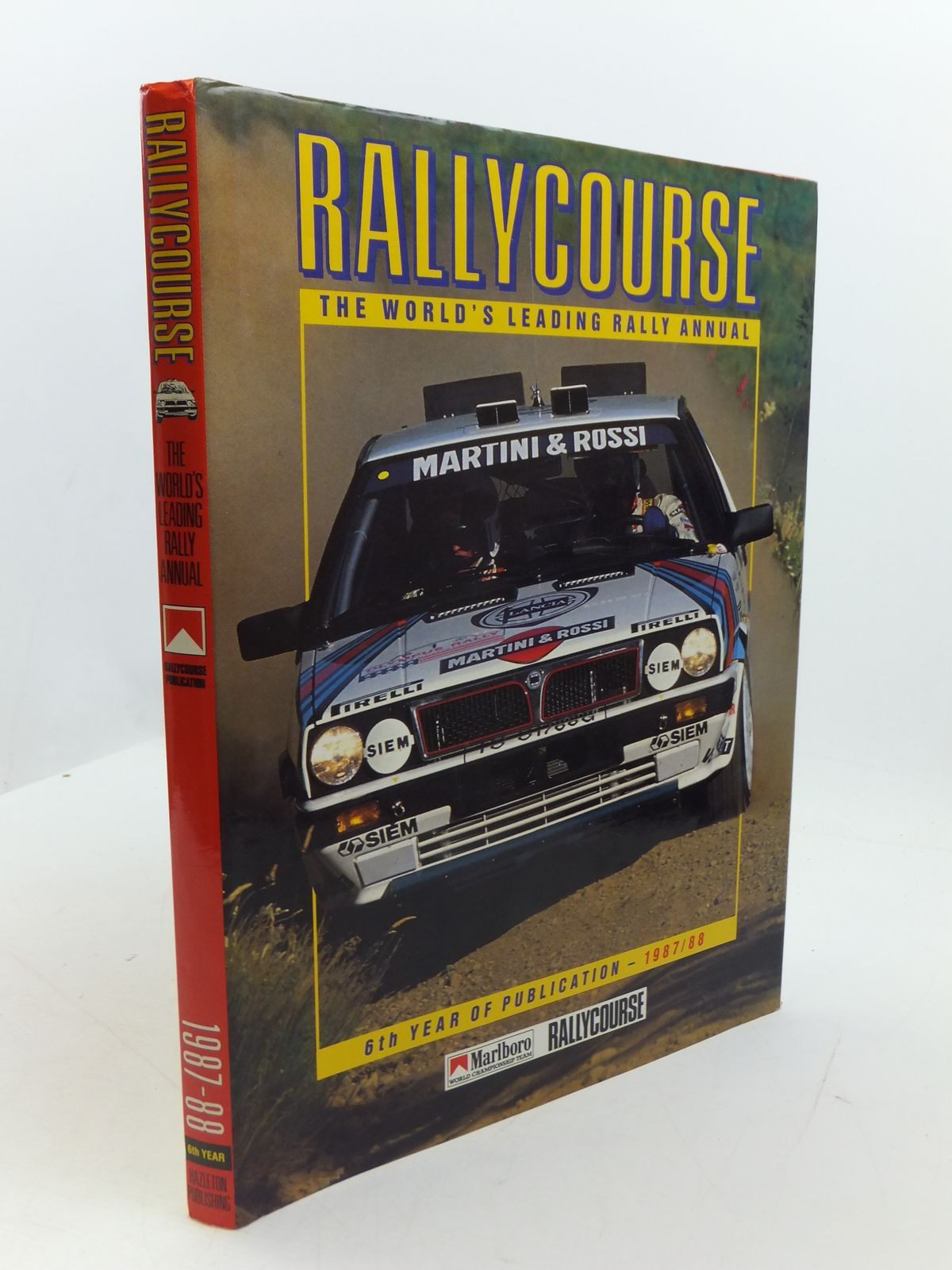 Photo of RALLYCOURSE 1987-88 written by Greasley, Mike published by Hazleton Publishing (STOCK CODE: 1807395)  for sale by Stella & Rose's Books