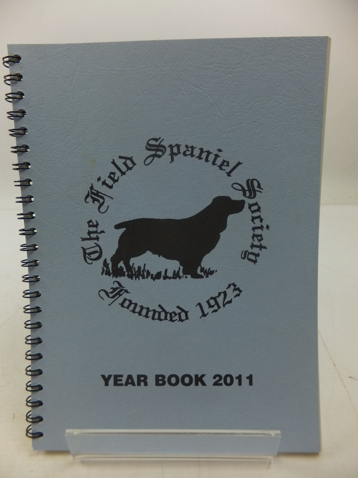 Photo of THE FIELD SPANIEL SOCIETY YEAR BOOK 2011 (STOCK CODE: 1807625)  for sale by Stella & Rose's Books