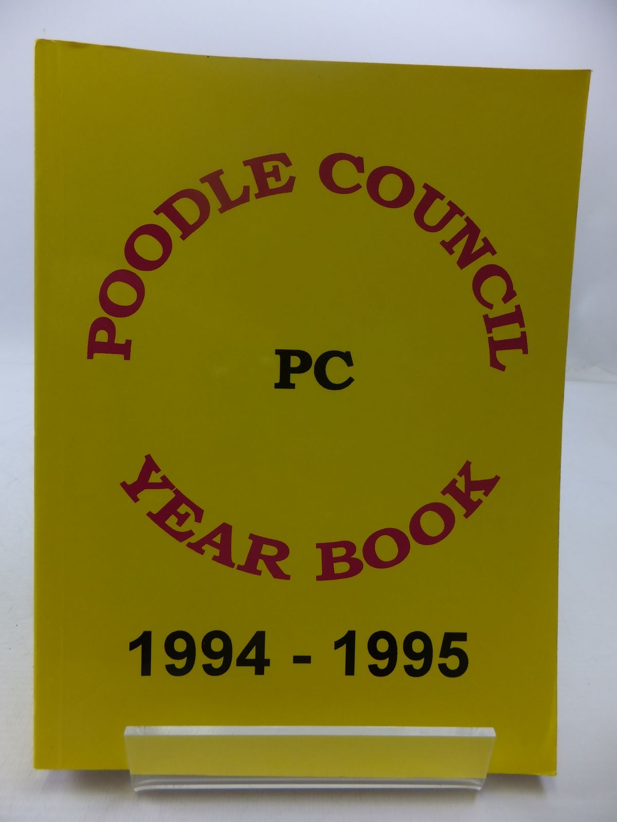 Photo of POODLE COUNCIL YEAR BOOK 1994-1995 published by The Poodle Council (STOCK CODE: 1807646)  for sale by Stella & Rose's Books