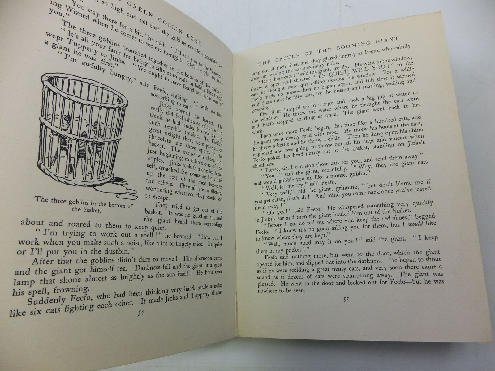 Photo of THE GREEN GOBLIN BOOK written by Blyton, Enid illustrated by Robinson, Gordon published by George Newnes Limited (STOCK CODE: 1807692)  for sale by Stella & Rose's Books