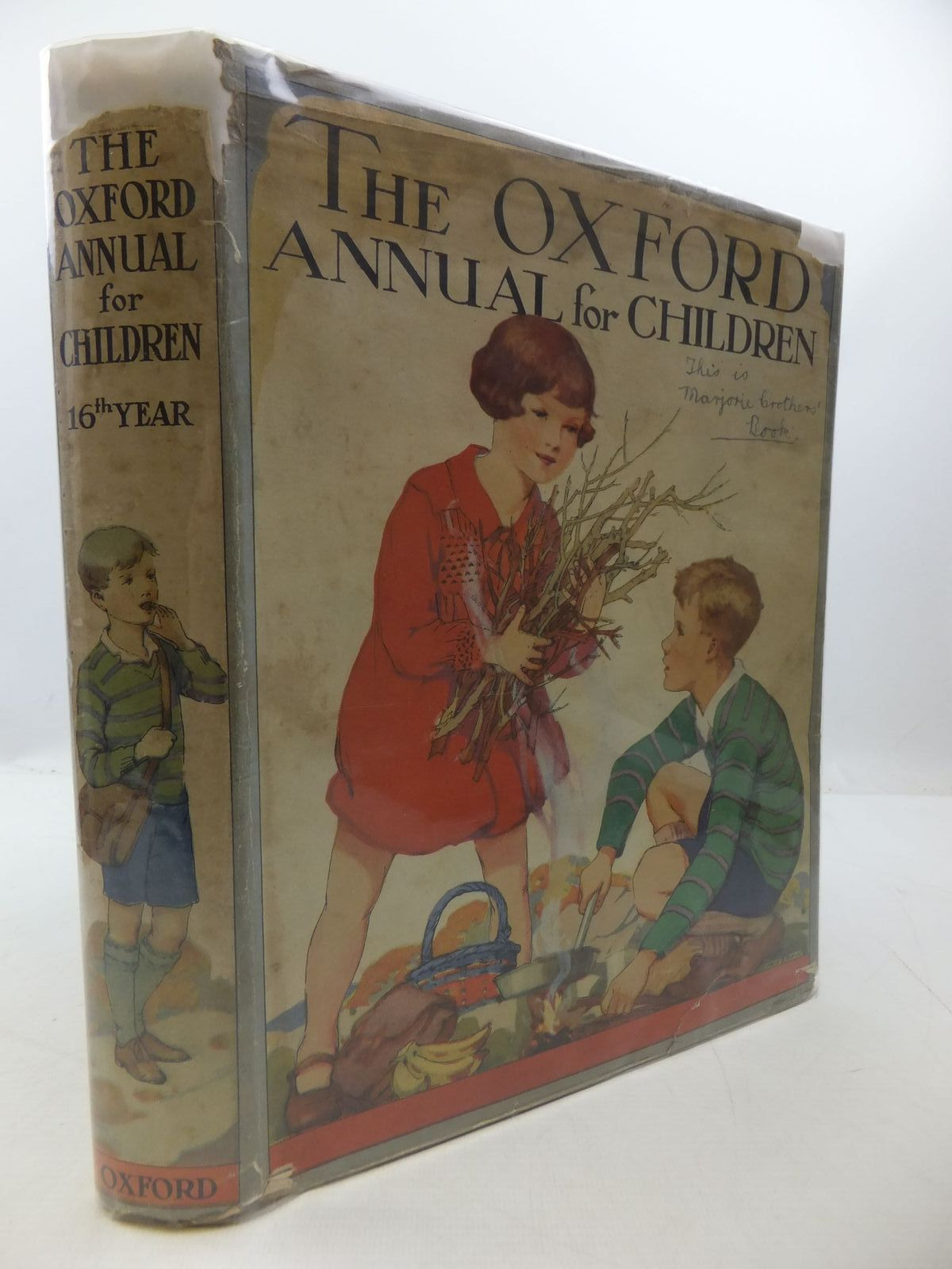 Photo of THE OXFORD ANNUAL FOR CHILDREN 16TH YEAR written by Harrison, Florence Methley, Violet M. Strang, Herbert et al,  illustrated by Reeve, Mary S. Brock, C.E. Sowerby, Millicent et al.,  published by Humphrey Milford, Oxford University Press (STOCK CODE: 1807693)  for sale by Stella & Rose's Books