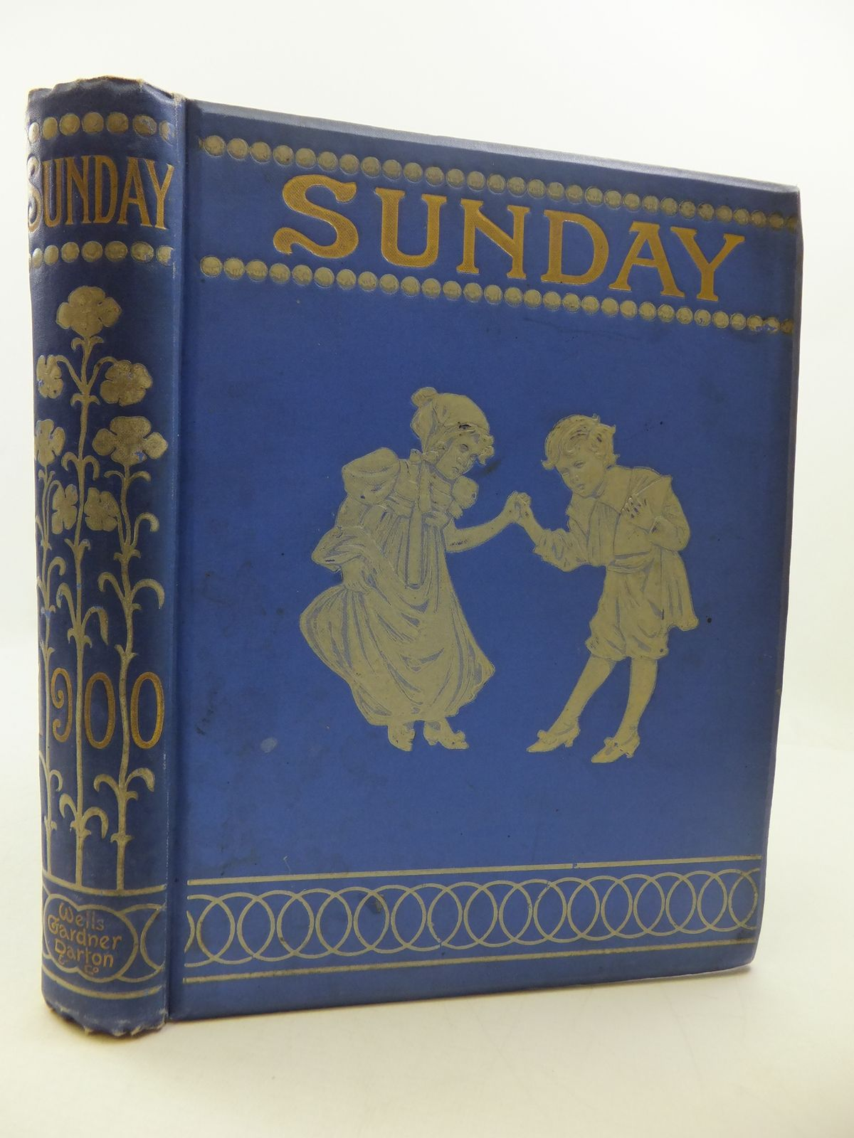 Photo of SUNDAY READING FOR THE YOUNG 1900 illustrated by Browne, Gordon<br />Walker, A.G.<br />Groome, W.H.C.<br />Miles, Helen<br />Rhead, George Woolliscroft<br />Robinson, Charles<br />et al.,  published by Wells Gardner, Darton &amp; Co. (STOCK CODE: 1807714)  for sale by Stella & Rose's Books