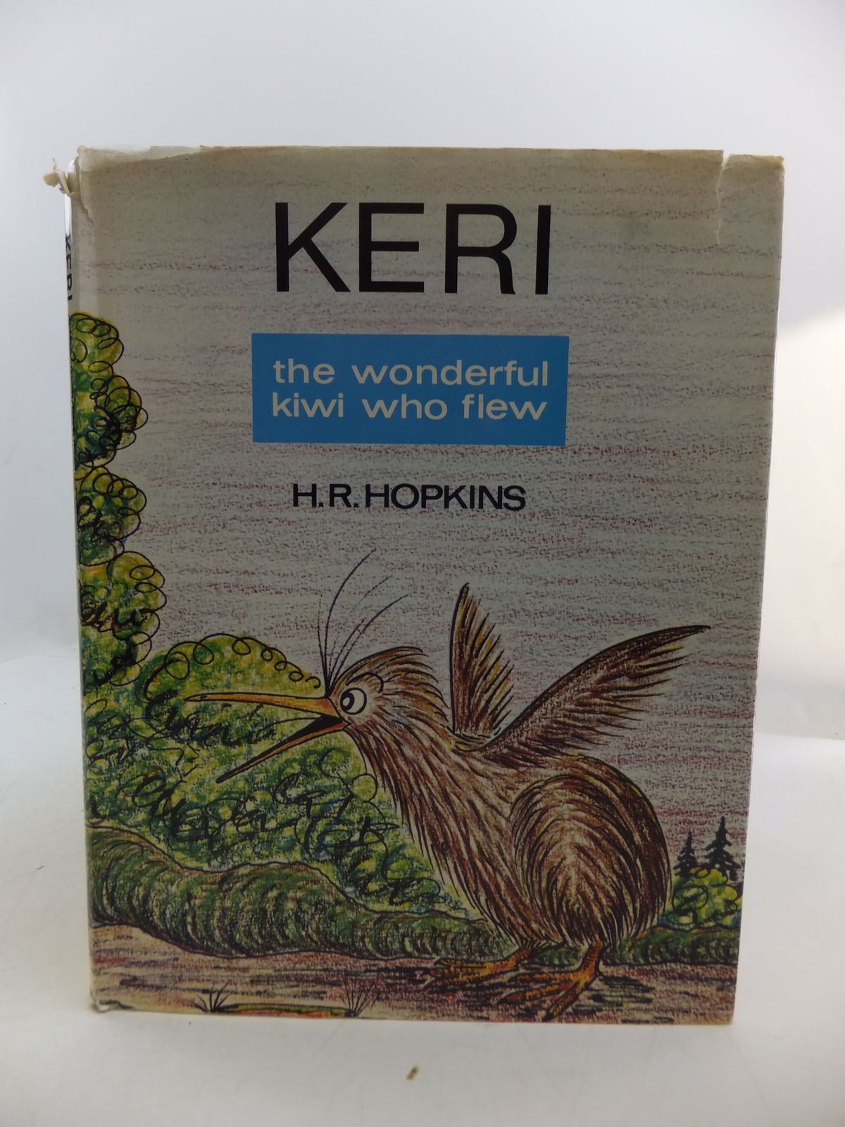 Photo of KERI THE WONDERFUL KIWI WHO FLEW written by Hopkins, H.R. illustrated by Hopkins, H.R. published by A.H. & A.W. Reed (STOCK CODE: 1807945)  for sale by Stella & Rose's Books