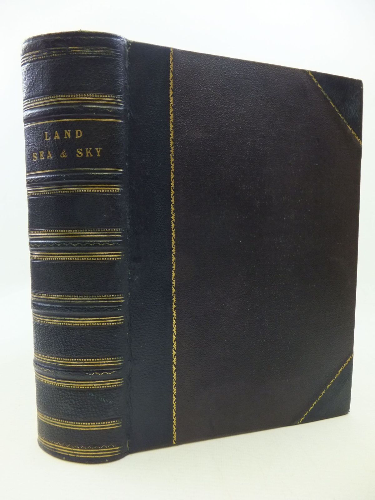 Photo of LAND, SEA AND SKY: WONDERS OF LIFE AND NATURE written by Klein, Herman Minshull, J. published by Ward Lock & Co Ltd. (STOCK CODE: 1808078)  for sale by Stella & Rose's Books