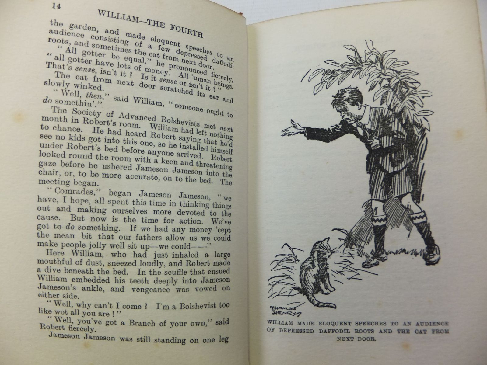 Photo of WILLIAM THE FOURTH written by Crompton, Richmal illustrated by Henry, Thomas published by George Newnes Limited (STOCK CODE: 1808079)  for sale by Stella & Rose's Books