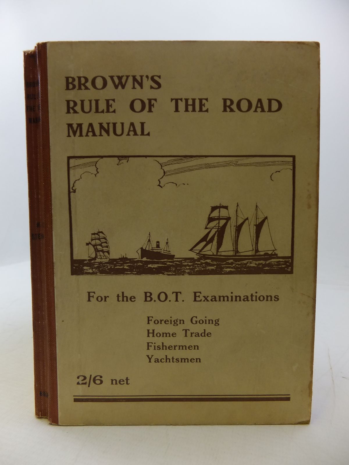 Photo of BROWN'S RULE OF THE ROAD MANUAL: THE RULE OF THE ROAD AT SEA- Stock Number: 1808152
