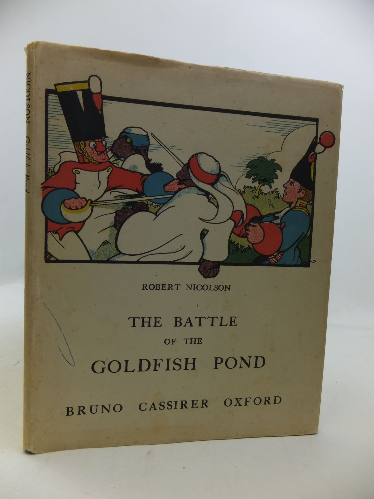Photo of THE BATTLE OF THE GOLDFISH POND- Stock Number: 1808179