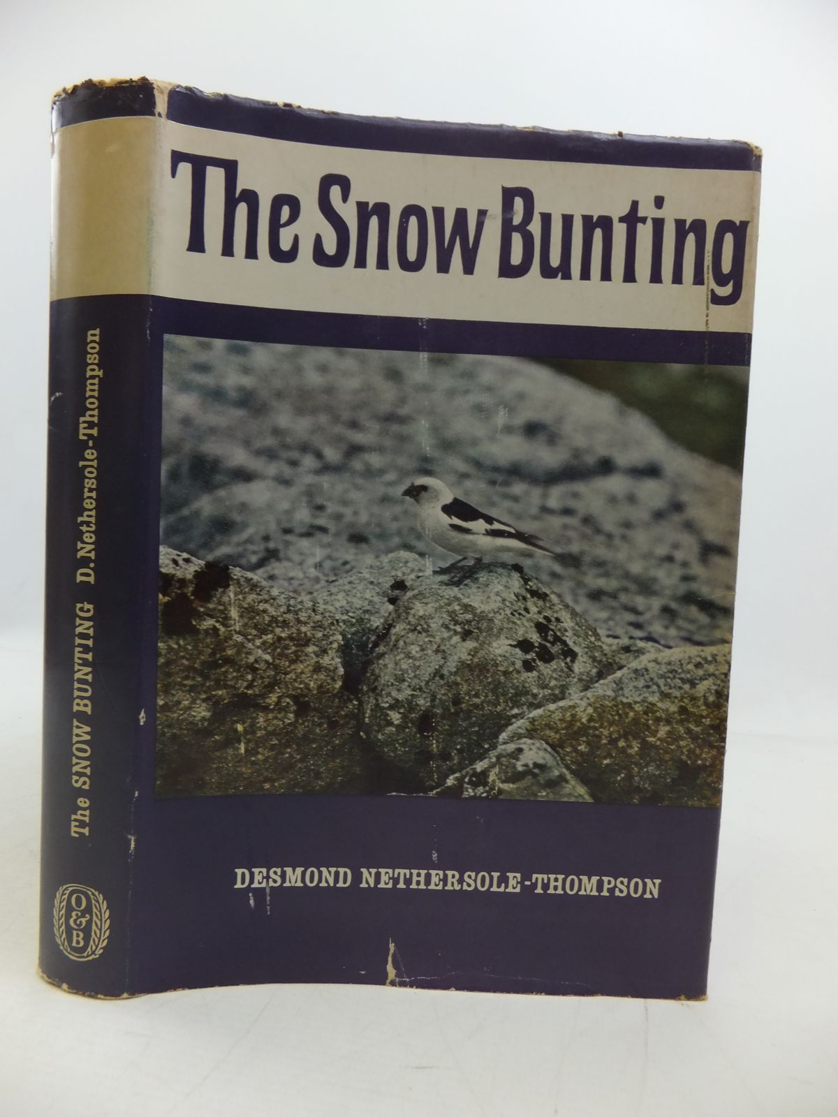 Photo of THE SNOW BUNTING written by Nethersole-Thompson, Desmond published by Oliver & Boyd (STOCK CODE: 1808191)  for sale by Stella & Rose's Books