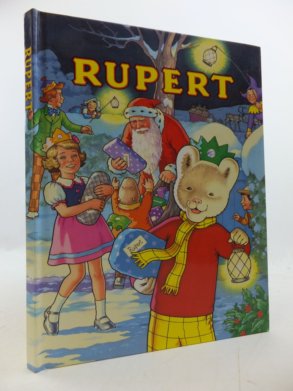 Photo of RUPERT ANNUAL 1992 written by Robinson, Ian illustrated by Harrold, John published by Annual Concepts Limited (STOCK CODE: 1808433)  for sale by Stella & Rose's Books