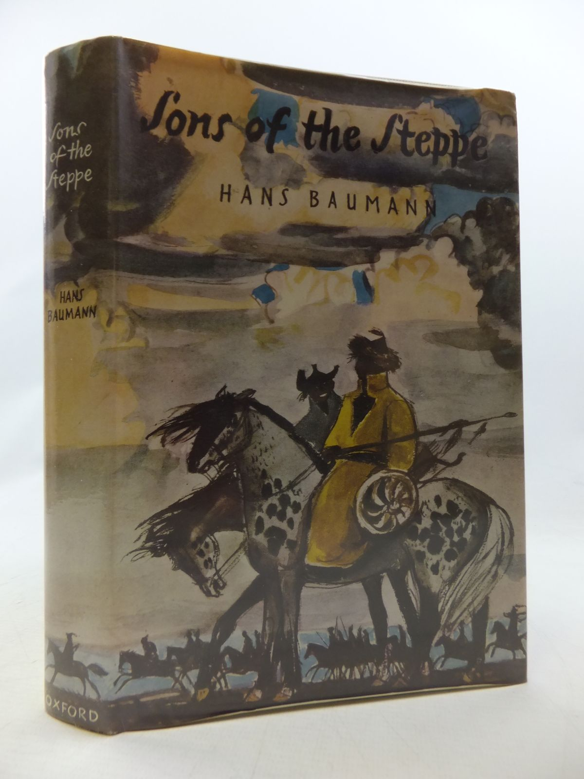Photo of SONS OF THE STEPPE written by Baumann, Hans illustrated by Rothfuchs, Heiner published by Oxford University Press (STOCK CODE: 1808855)  for sale by Stella & Rose's Books