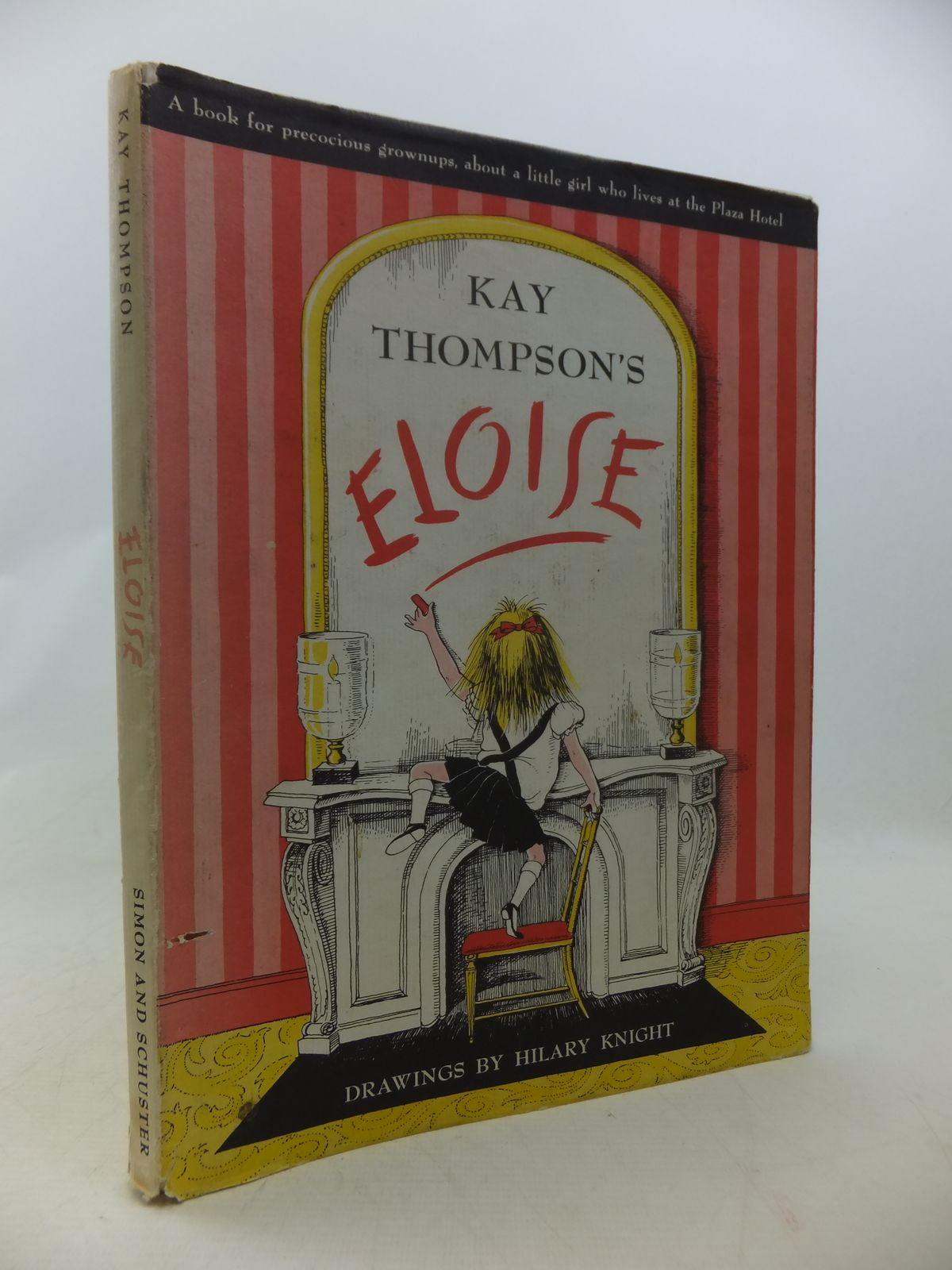 Photo of ELOISE written by Thompson, Kay illustrated by Knight, Hilary published by Simon & Schuster (STOCK CODE: 1808932)  for sale by Stella & Rose's Books