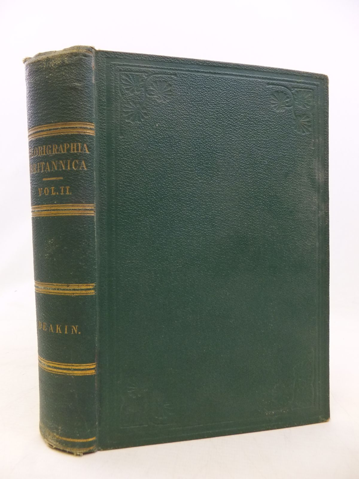 Photo of FLORIGRAPHIA BRITANNICA VOLUME II written by Deakin, Richard published by Groombridge & Sons (STOCK CODE: 1809153)  for sale by Stella & Rose's Books