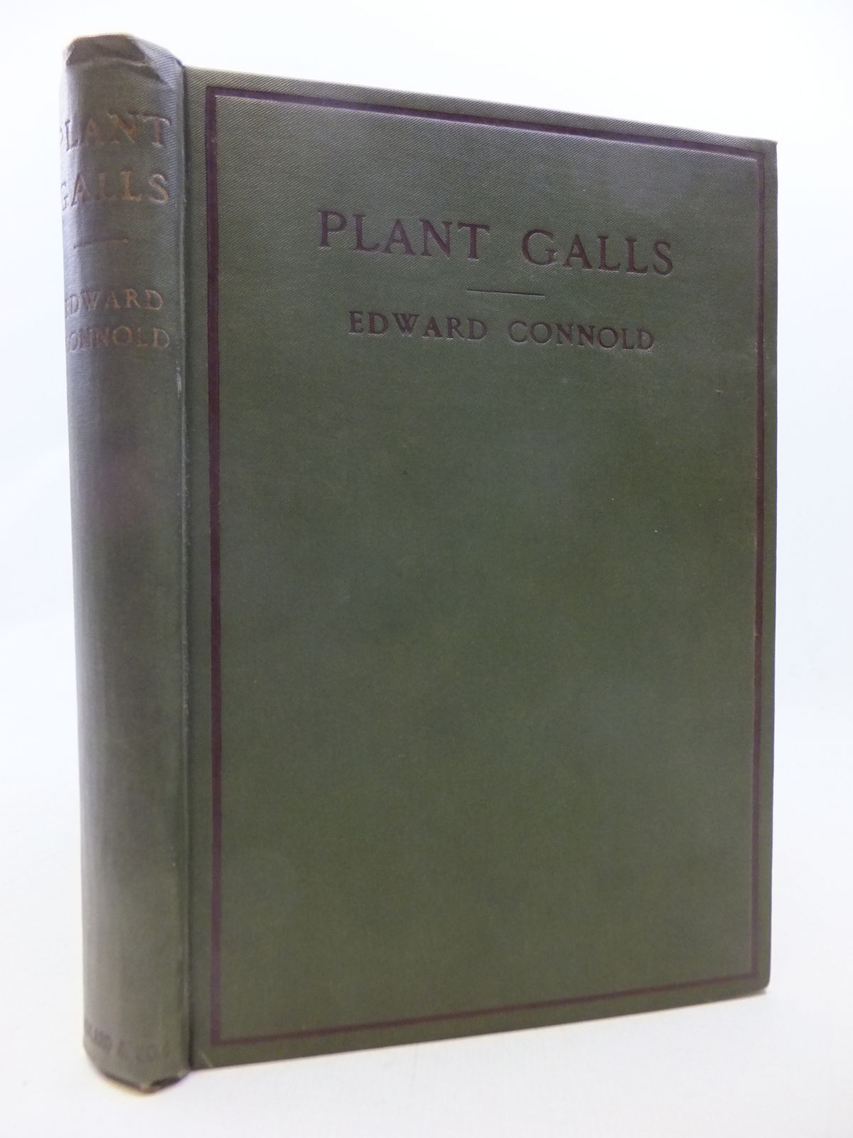 Photo of PLANT GALLS OF GREAT BRITAIN: A NATURE STUDY HANDBOOK written by Connold, Edward T. published by Adlard & Son (STOCK CODE: 1809239)  for sale by Stella & Rose's Books