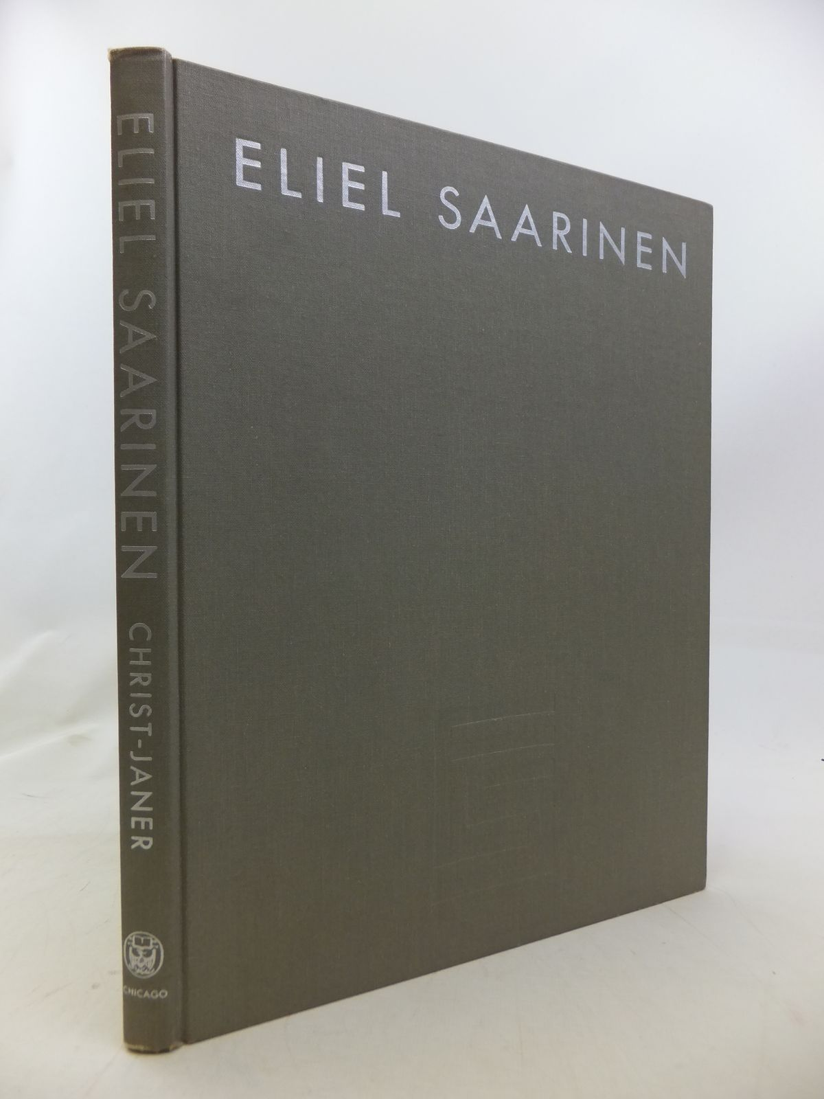 Photo of ELIEL SAARINEN: FINNISH-AMERICAN ARCHITECT AND EDUCATOR written by Christ-Janer, Albert published by University of Chicago Press (STOCK CODE: 1809327)  for sale by Stella & Rose's Books