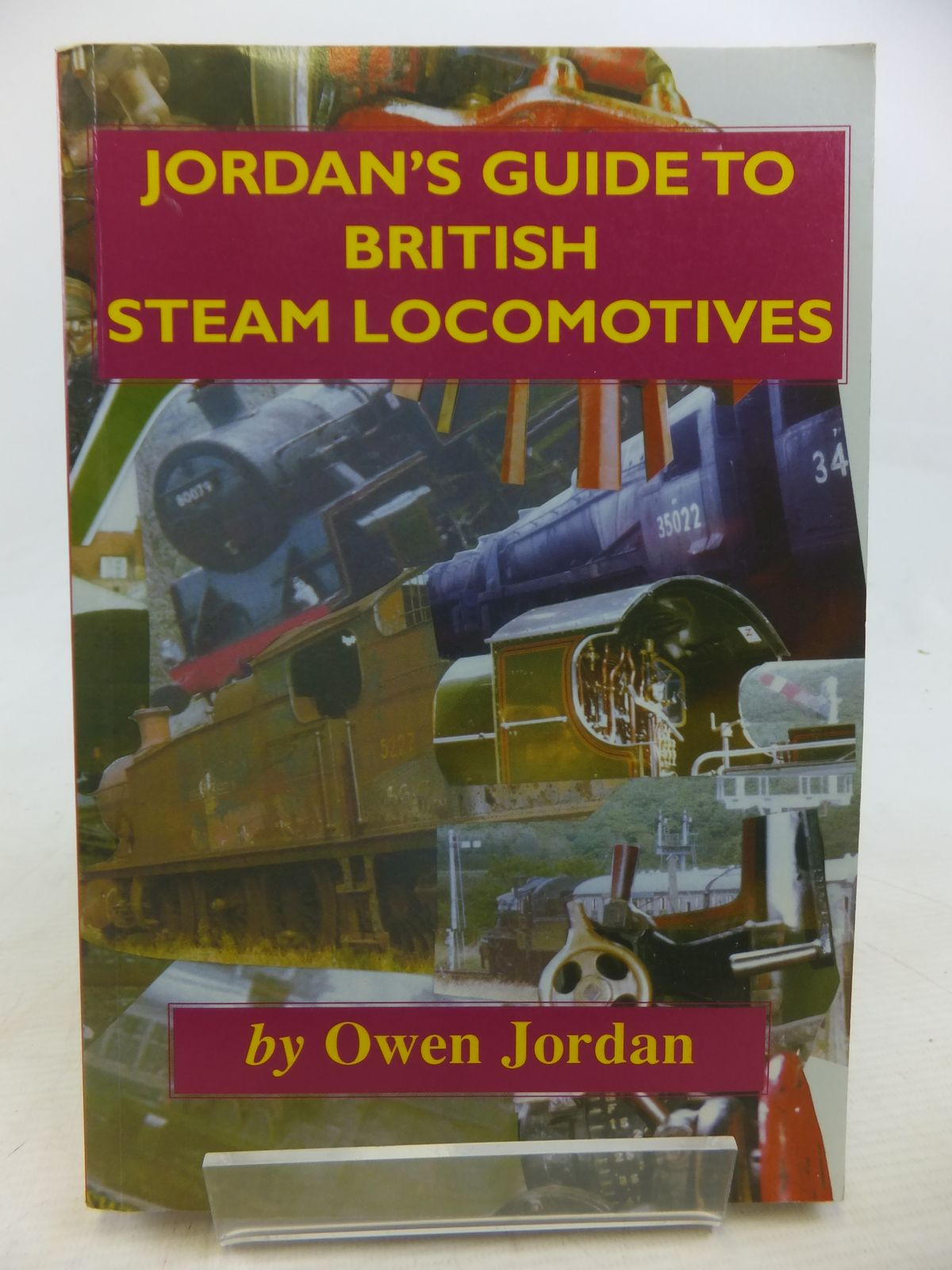 Photo of JORDAN'S GUIDE TO BRITISH STEAM LOCOMOTIVES- Stock Number: 1809715