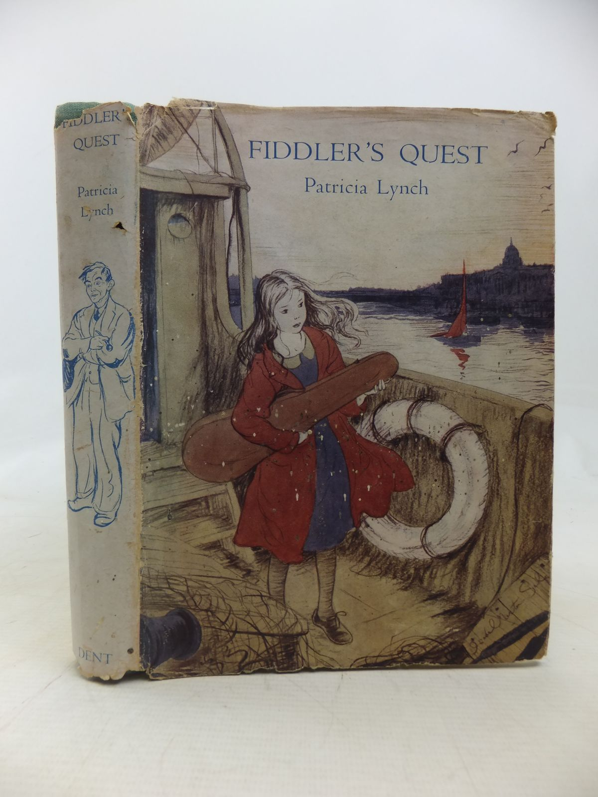Photo of FIDDLER'S QUEST written by Lynch, Patricia illustrated by Morton-Sale, Isobel published by J.M. Dent & Sons Ltd. (STOCK CODE: 1809783)  for sale by Stella & Rose's Books