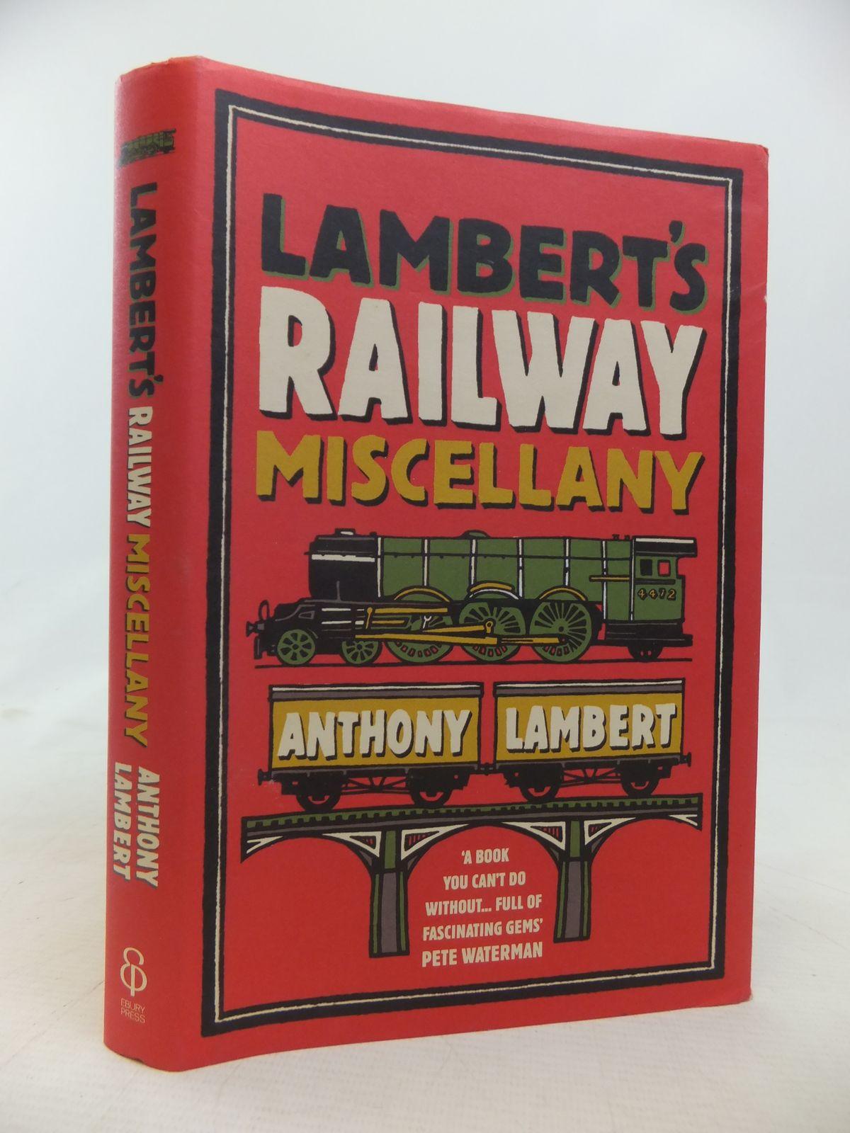 Photo of LAMBERT'S RAILWAY MISCELLANY- Stock Number: 1809957