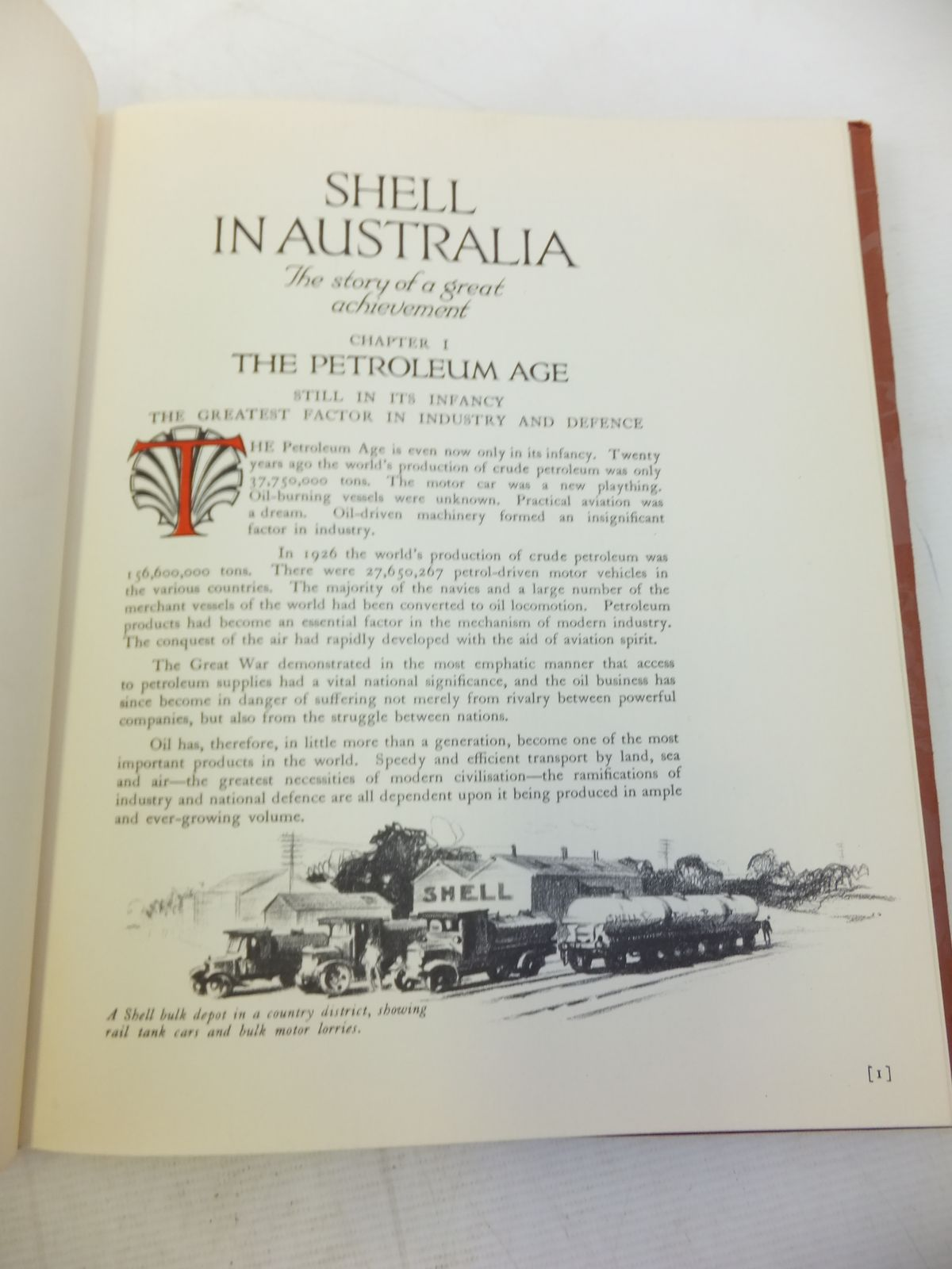 Photo of SHELL IN AUSTRALIA THE STORY OF A GREAT ACHIEVEMENT written by Cohen, Robert Waley published by Shell Company Of Australia Limited (STOCK CODE: 1810053)  for sale by Stella & Rose's Books