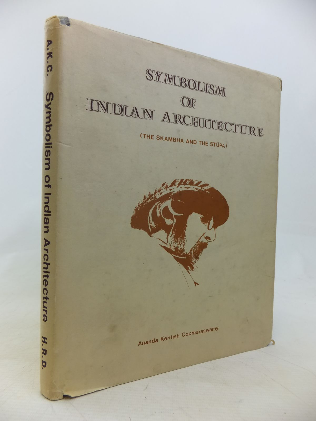 Photo of SYMBOLISM OF INDIAN ARCHITECTURE written by Coomaraswamy, Ananda K. published by The Historical Research Documentation Programme (STOCK CODE: 1810063)  for sale by Stella & Rose's Books