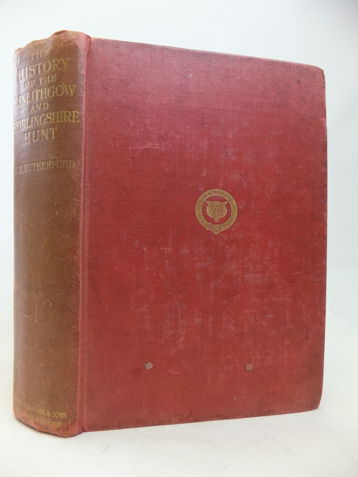 Photo of THE HISTORY OF THE LINLITHGOW AND STIRLINGSHIRE HUNT 1775-1910- Stock Number: 1810090