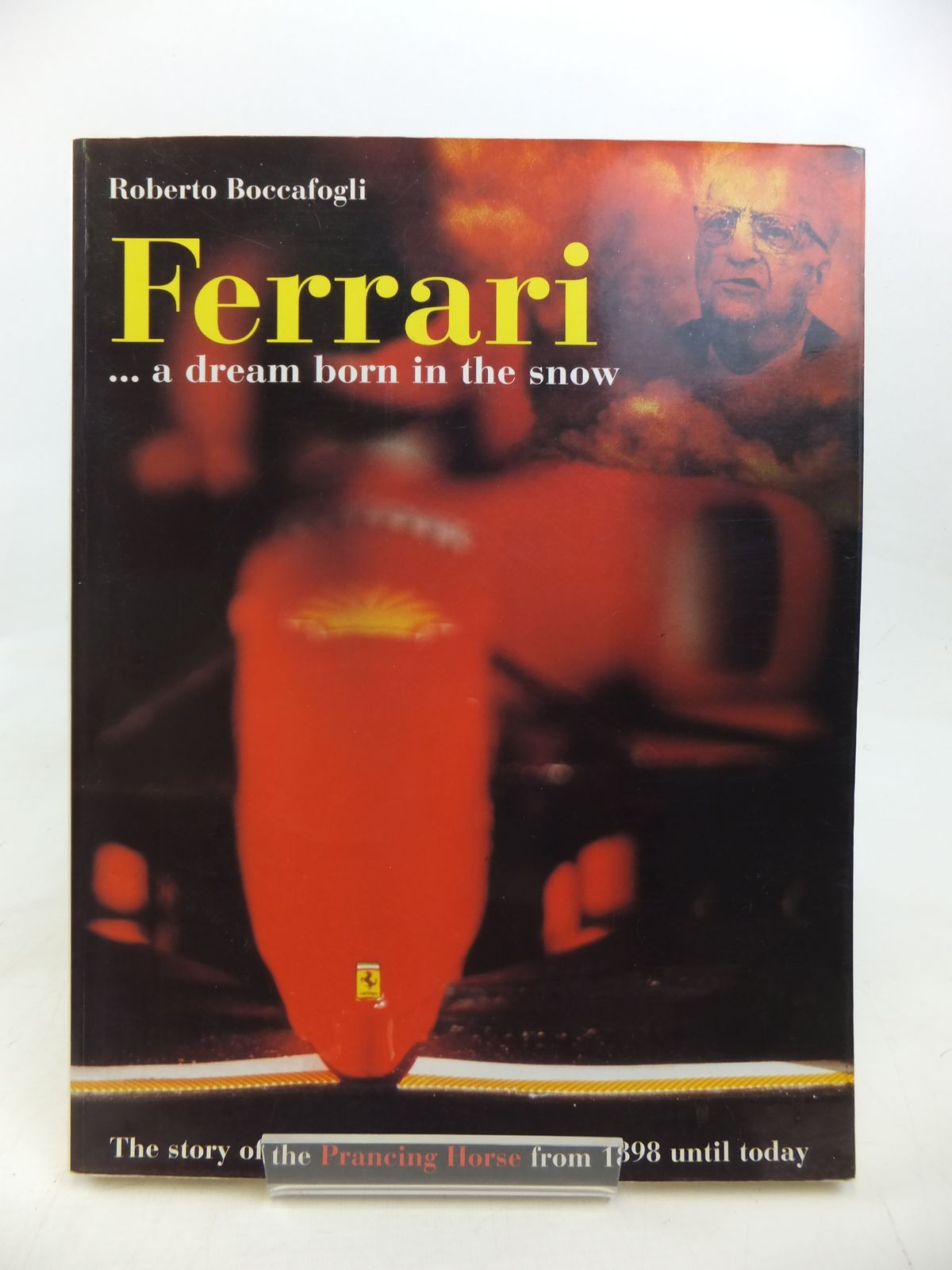 Photo of FERRARI A DREAM BORN IN THE SNOW- Stock Number: 1810161