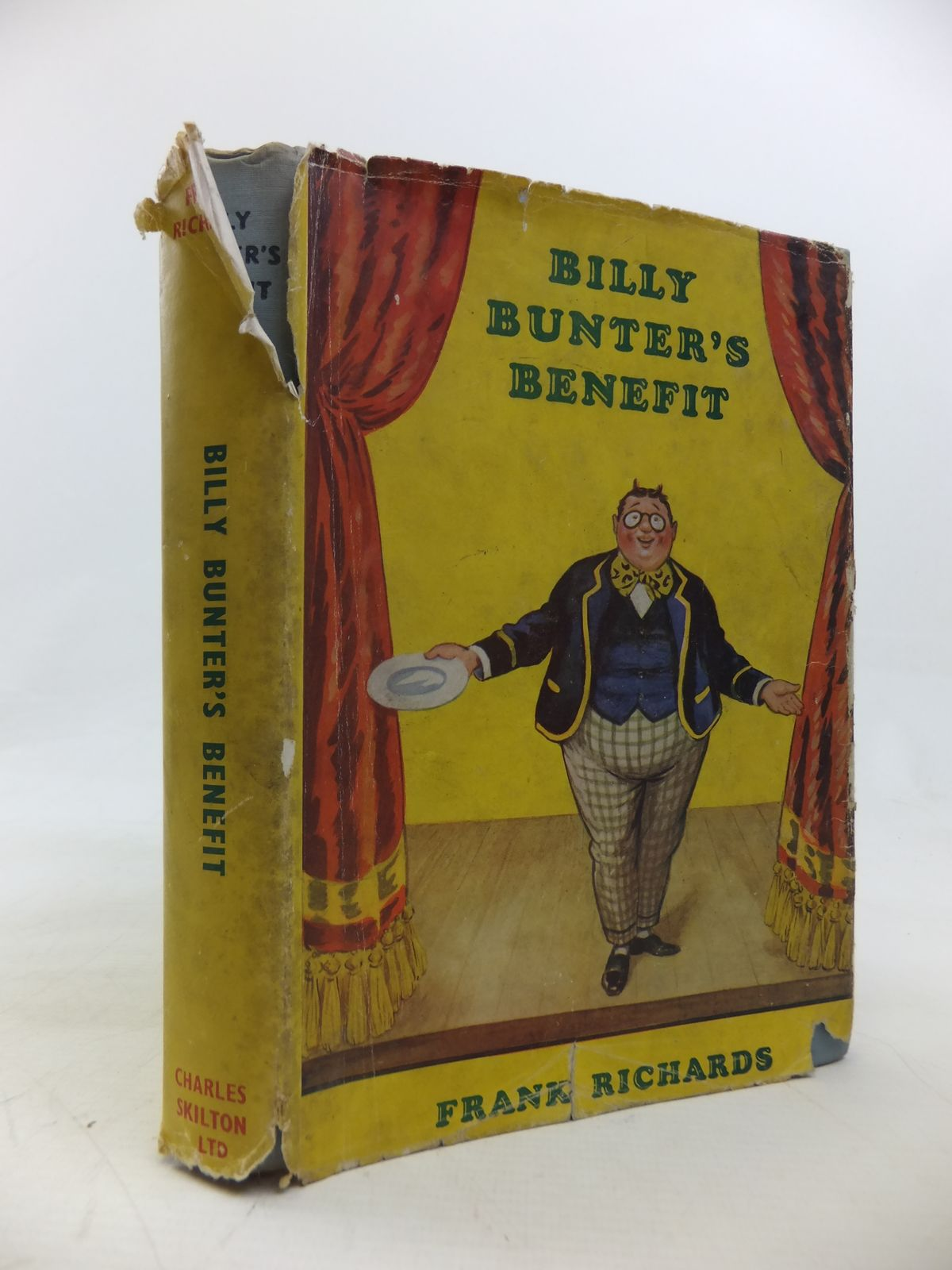 Photo of BILLY BUNTER'S BENEFIT written by Richards, Frank illustrated by Macdonald, R.J. published by Charles Skilton (STOCK CODE: 1810521)  for sale by Stella & Rose's Books