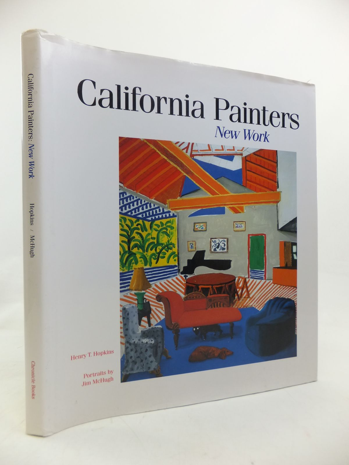 Photo of CALIFORNIA PAINTERS: NEW WORK written by Hopkins, Henry T. published by Chronicle Books (STOCK CODE: 1810583)  for sale by Stella & Rose's Books