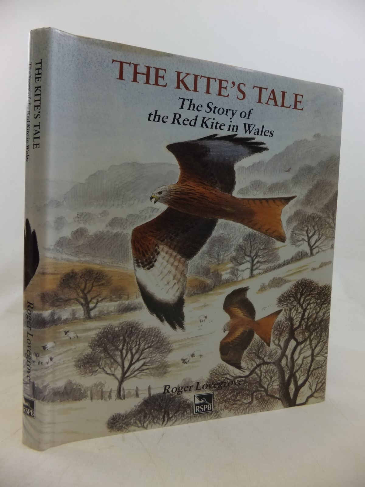 Photo of THE KITE'S TALE THE STORY OF THE RED KITE IN WALES written by Lovegrove, Roger illustrated by Rees, Darren published by RSPB (STOCK CODE: 1810665)  for sale by Stella & Rose's Books